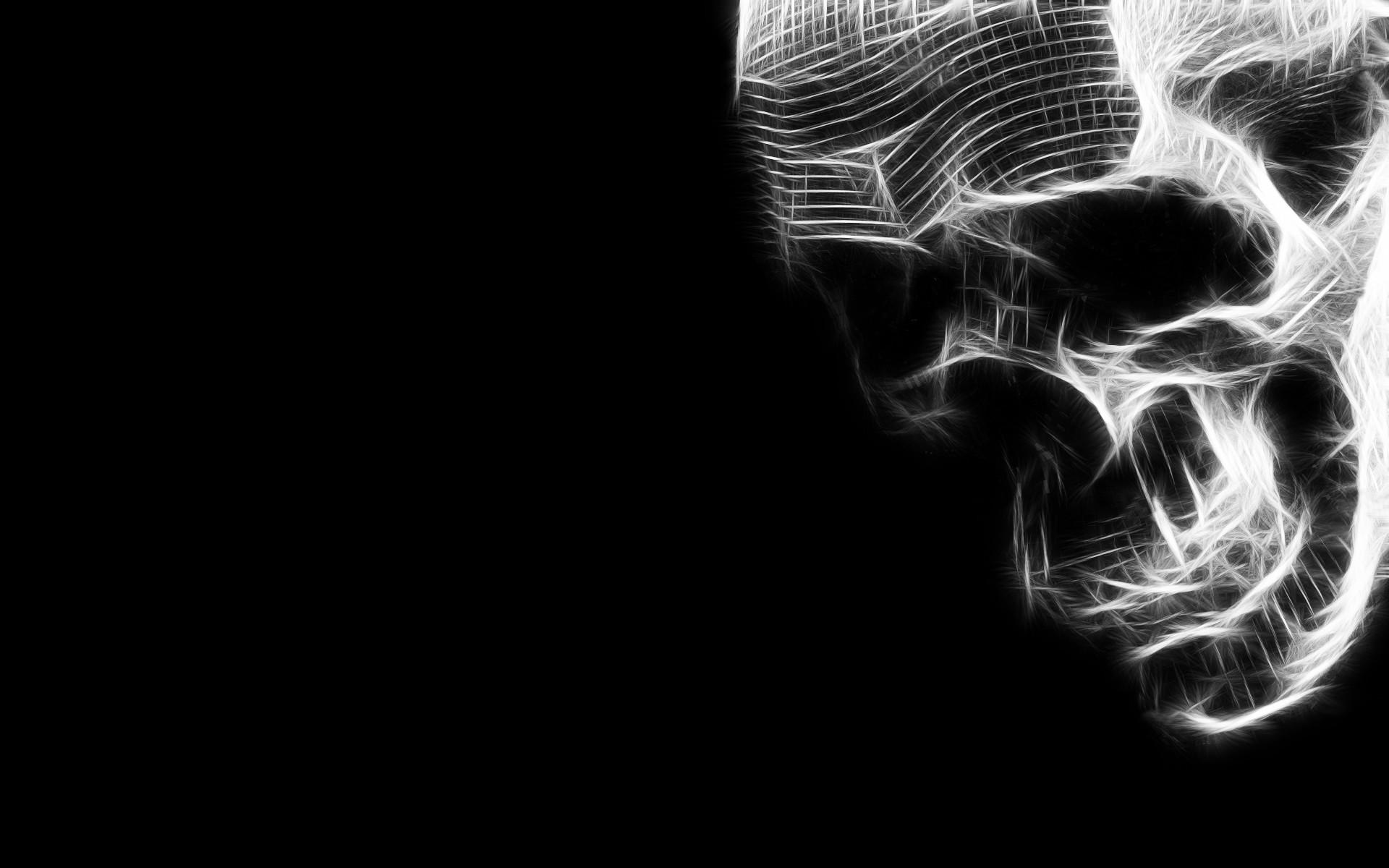 3D Skull Wallpaper 1