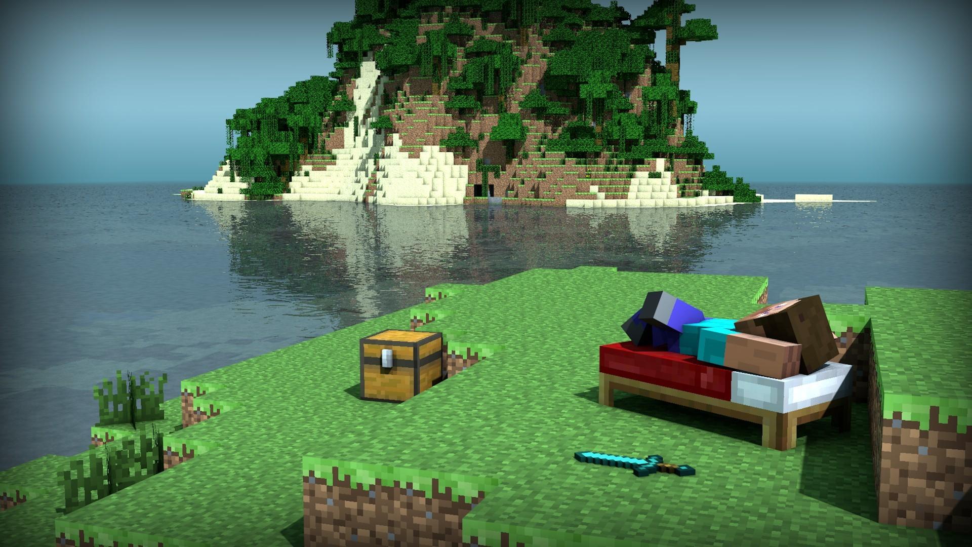 Minecraft Background Hd Wallpapertag