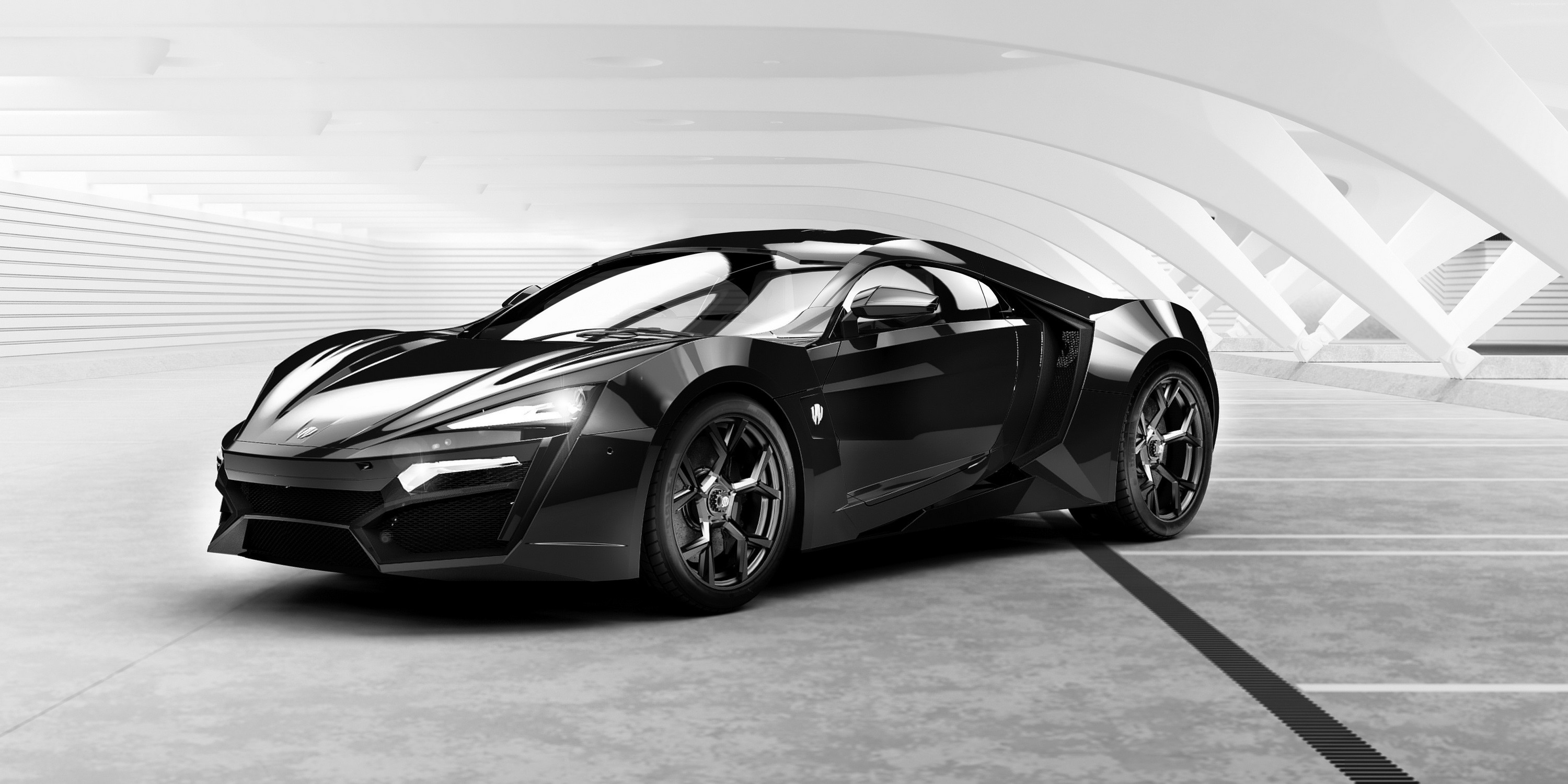 Lykan Hypersport Top View >> Fastest Car in the World Wallpaper ·①
