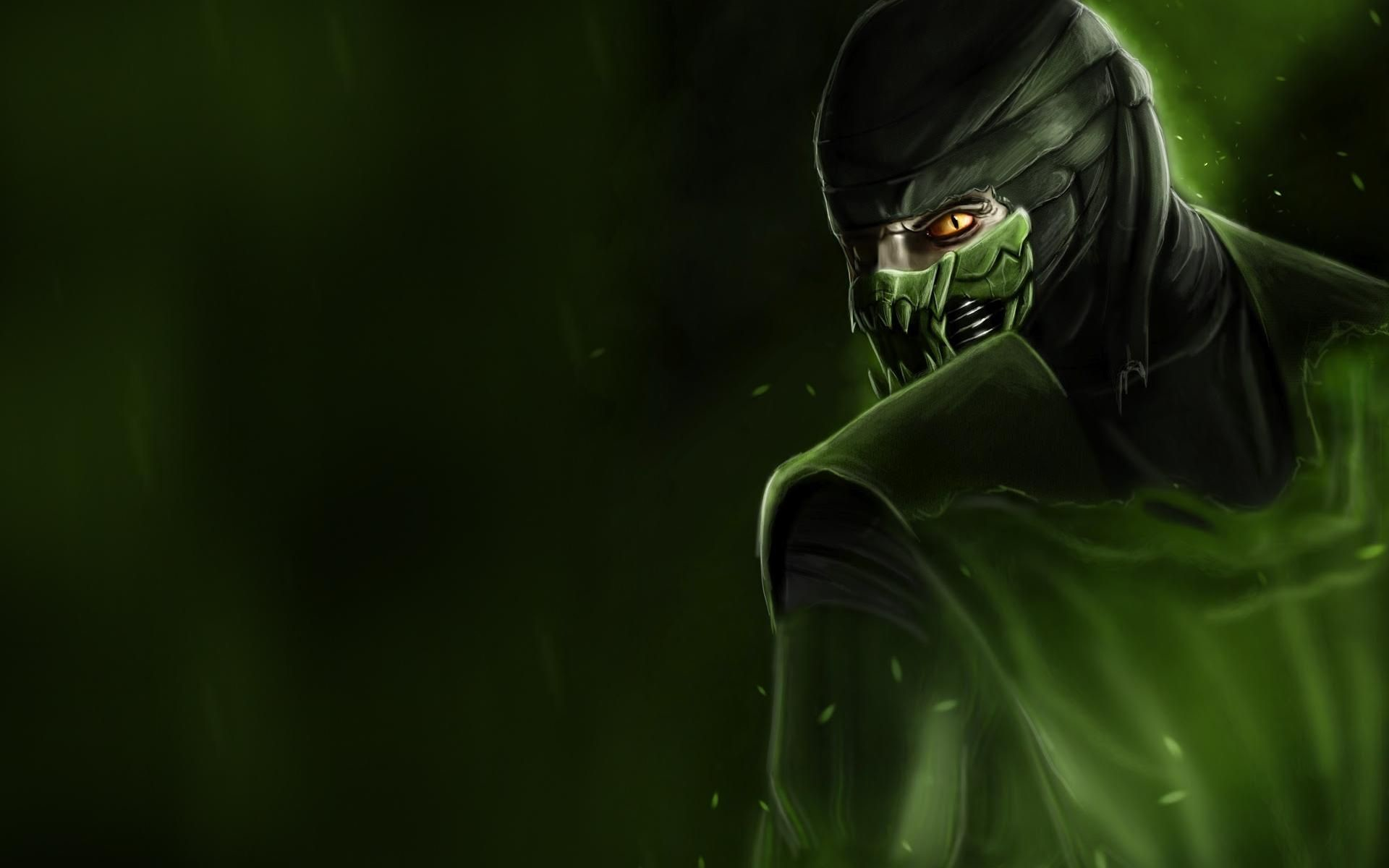 reptile mortal kombat wallpaper ·①