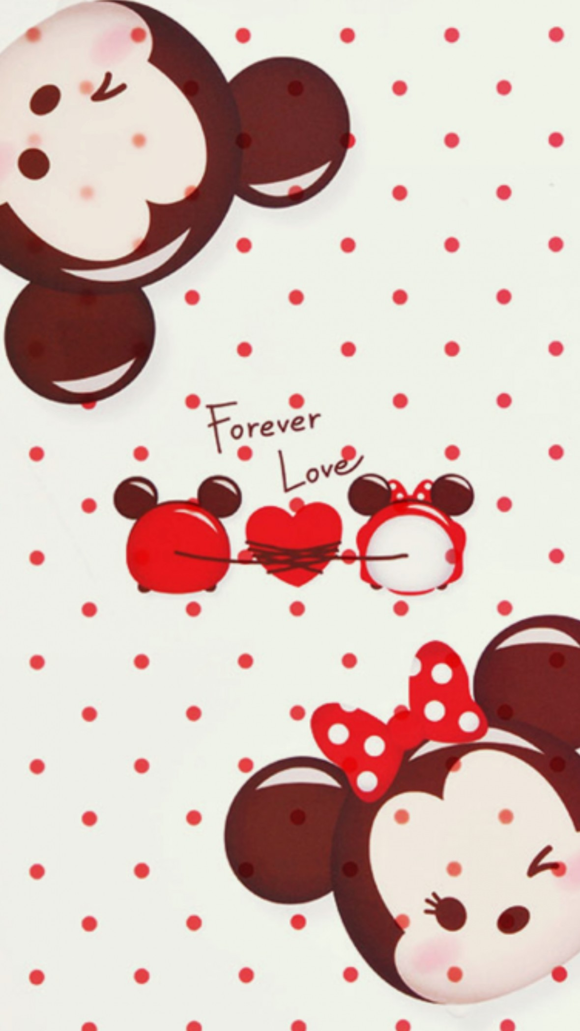 Mickey and minnie mouse wallpapers wallpapertag - Minnie mouse wallpaper pinterest ...