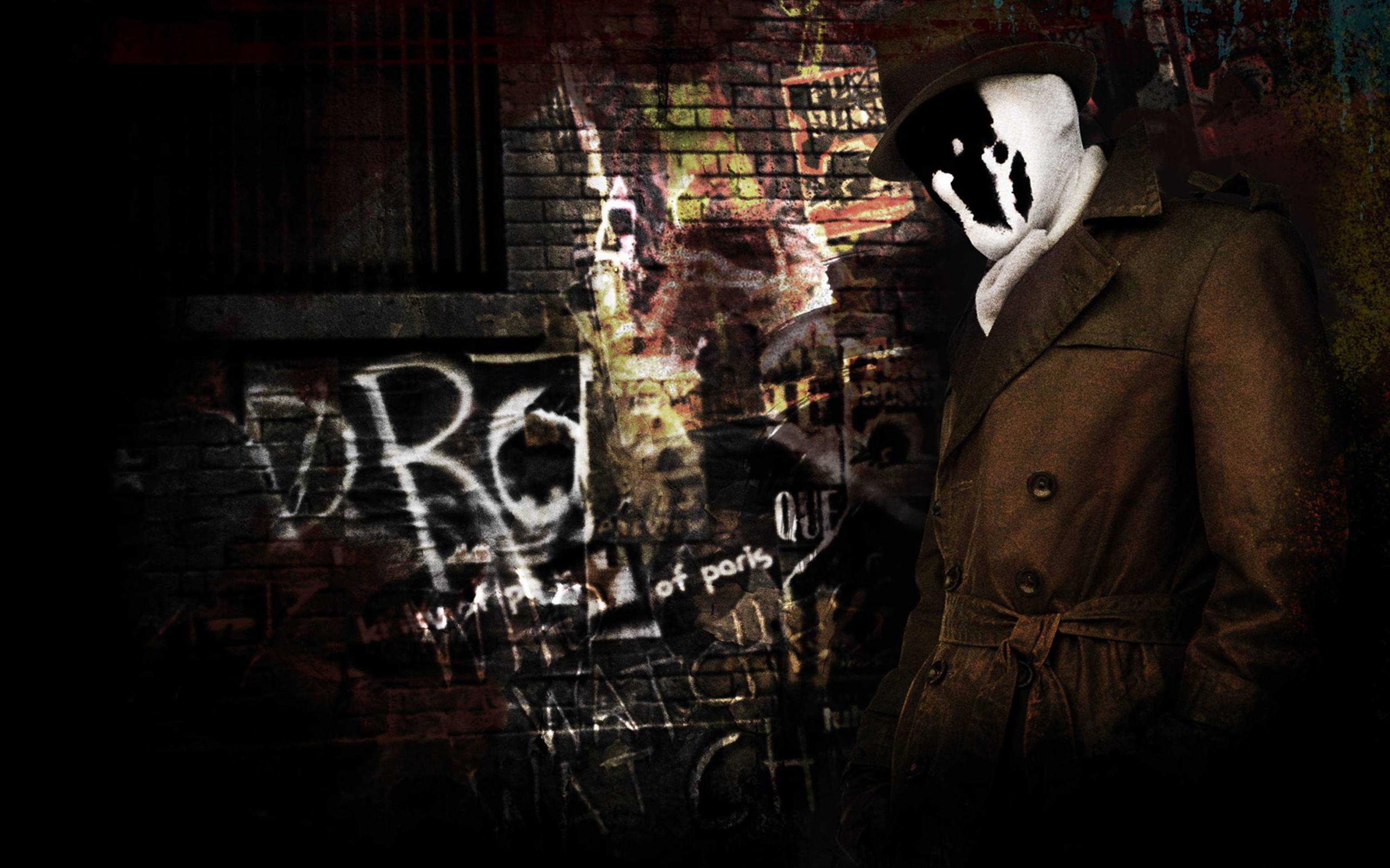 2560x1600 Rorschach in Watchmen
