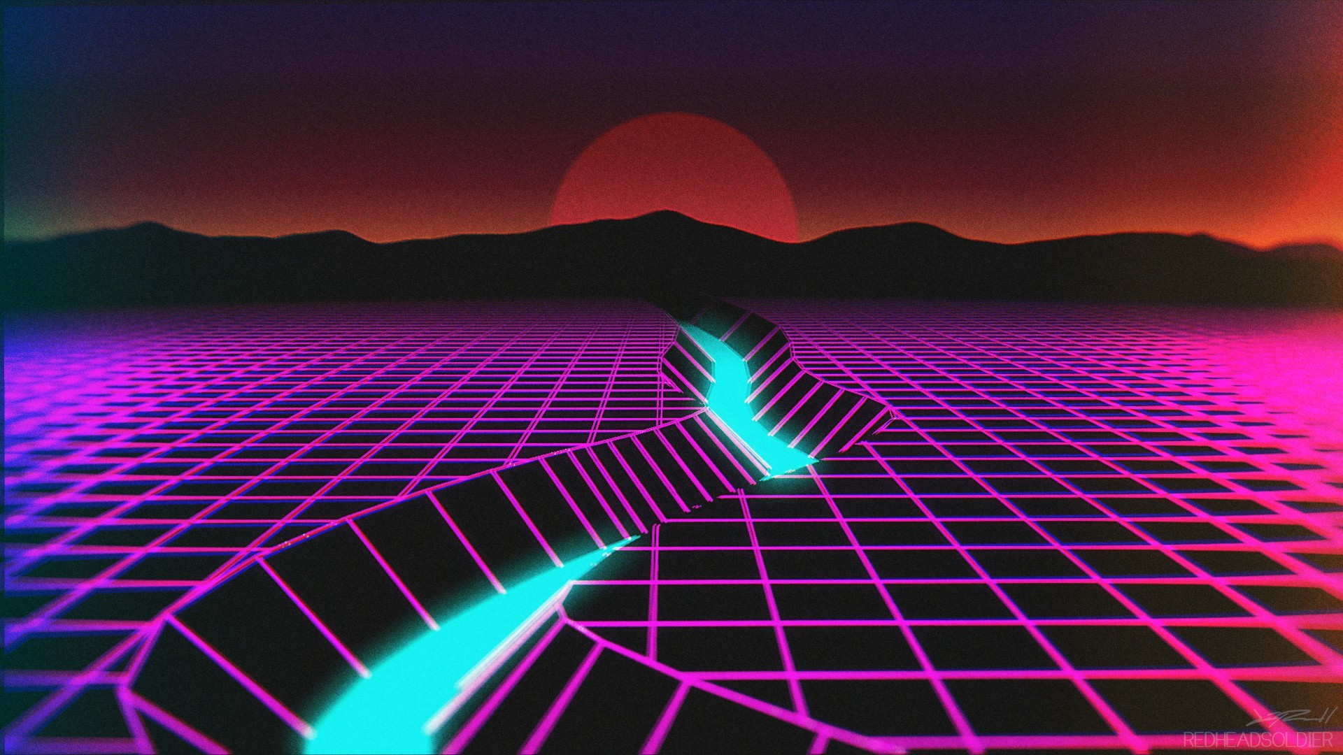 Iphone 5 Hd Wallpapers 1080p: Synthwave Wallpaper ·① Download Free High Resolution
