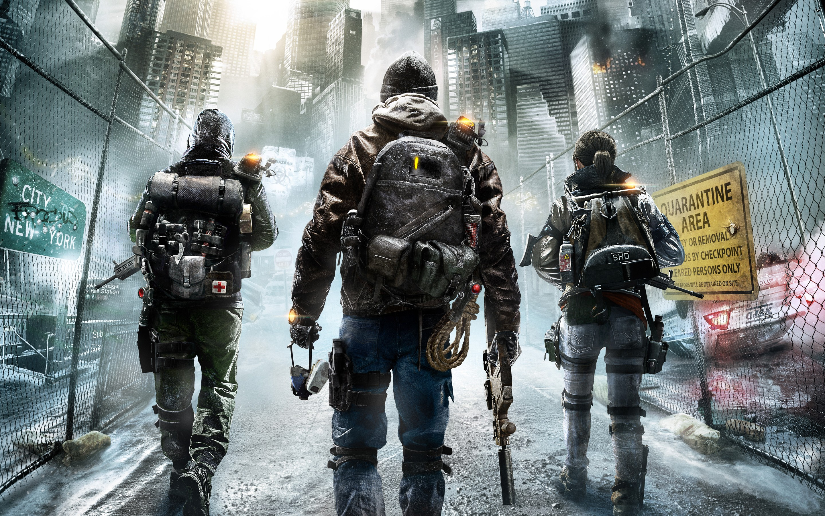 2880x1800 Tom Clancys The Division A HD Wallpaper