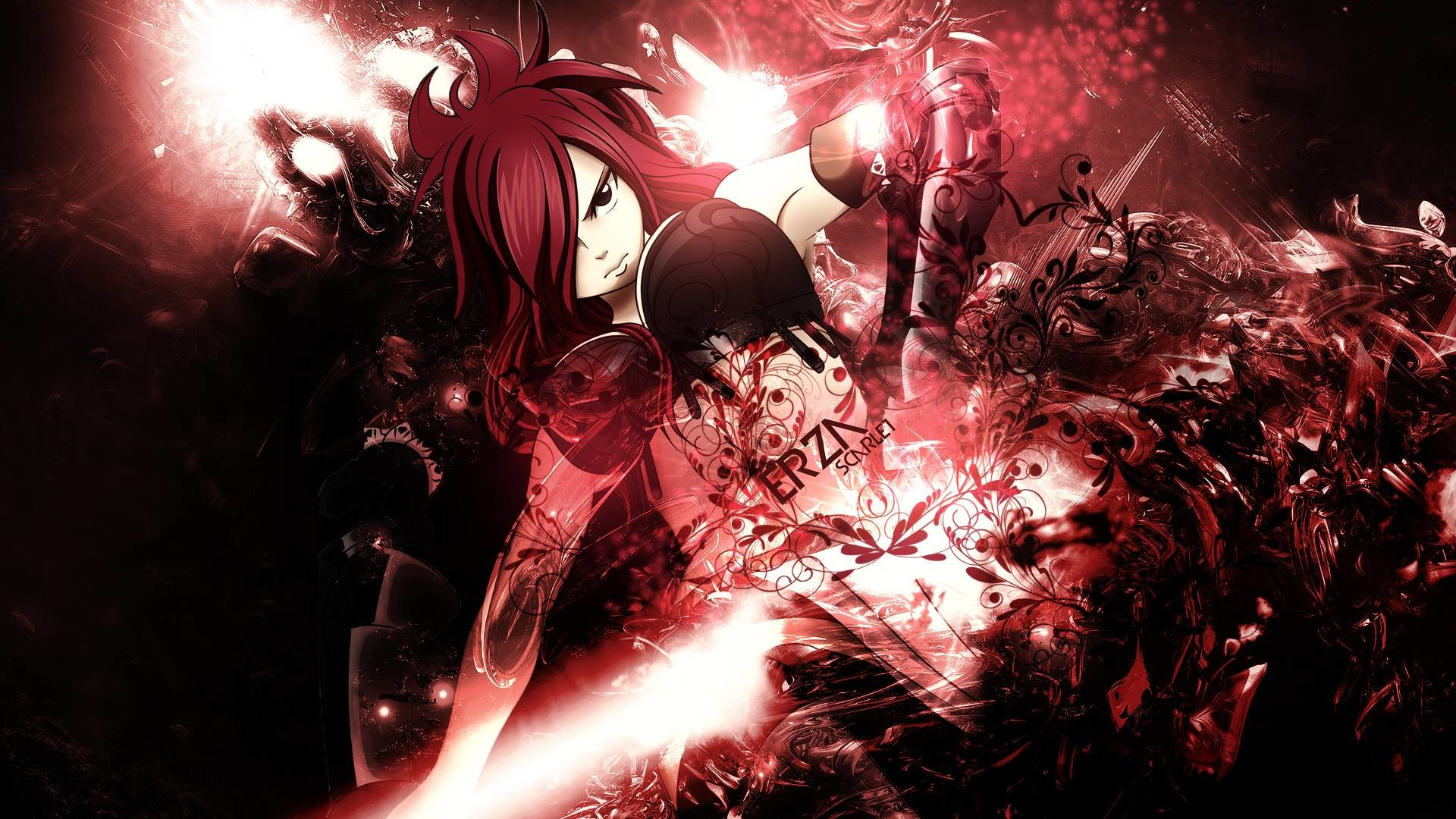 Fairy Tail Erza Wallpaper Wallpapertag