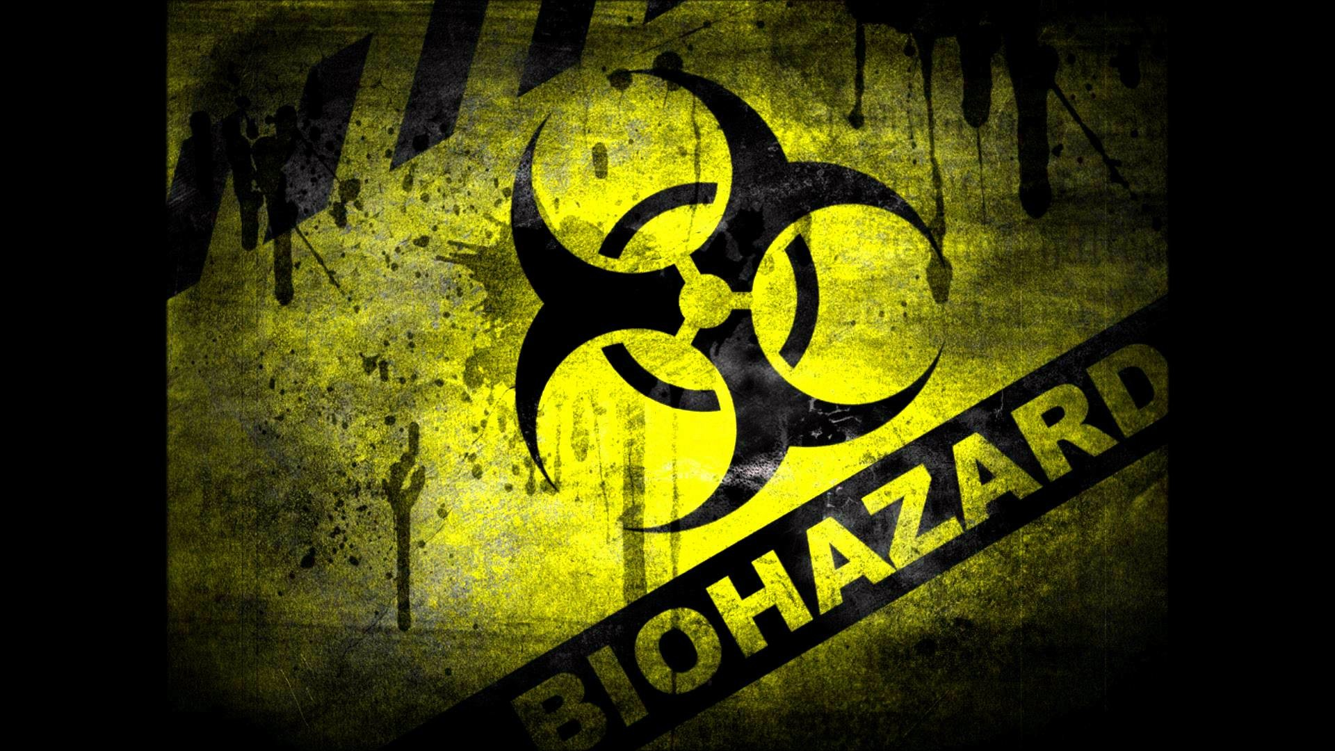 1920x1080 Related Pictures Red Biohazard Symbol Background Car