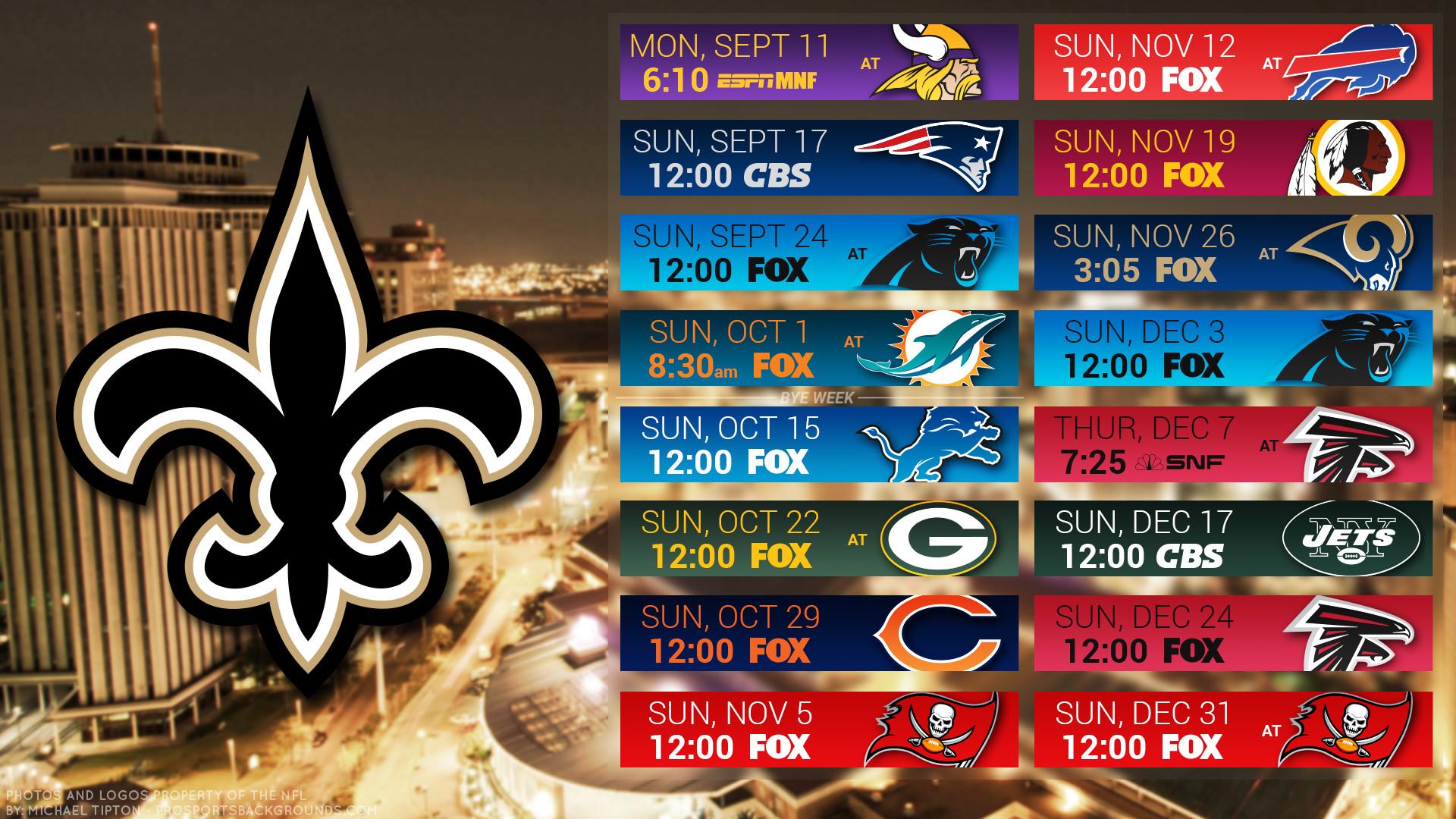 New Orleans Saints 2017 Wallpaper