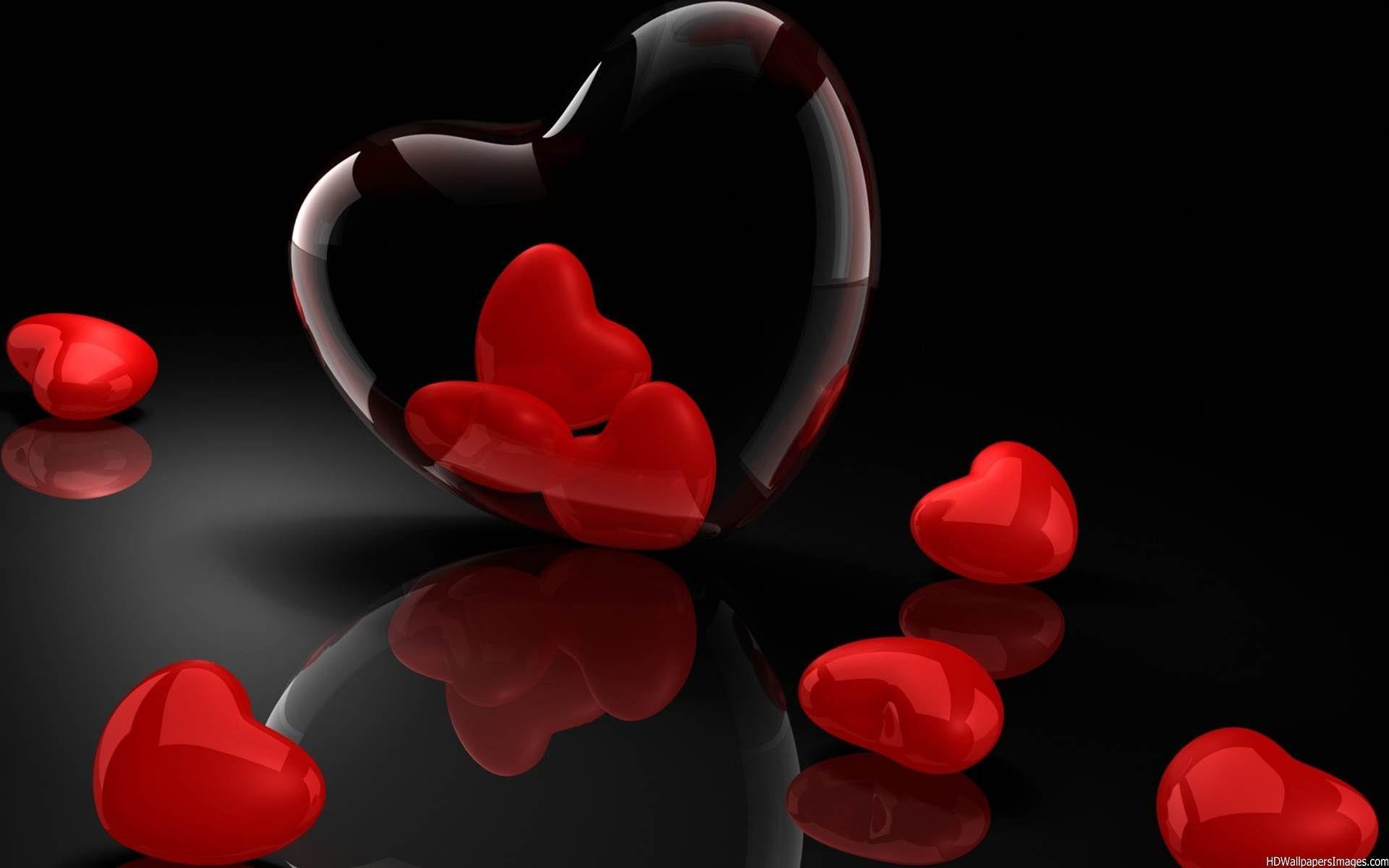 Valentine Hearts Wallpaper u00b7u2460