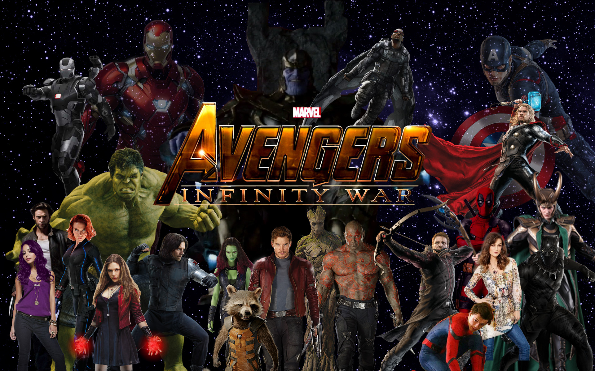 Avengers Wallpaper: Avengers Infinity War Wallpapers ·① WallpaperTag