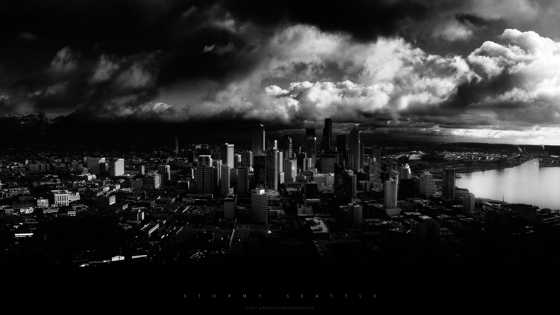 Black and White City Wallpaper ·① WallpaperTag