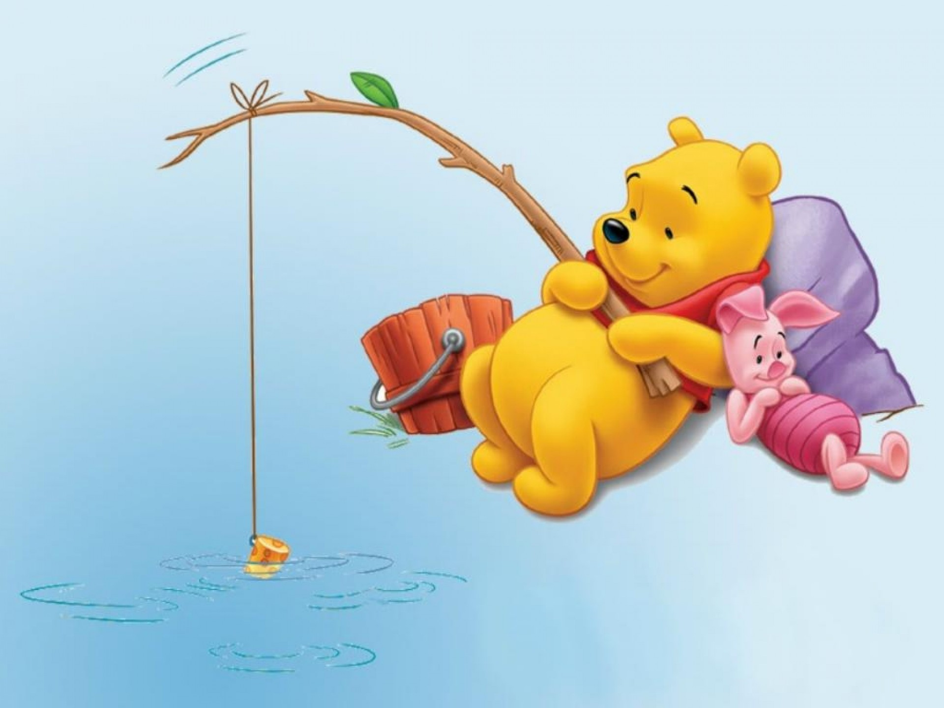 wallpaper pooh bear wallpapertag. Black Bedroom Furniture Sets. Home Design Ideas