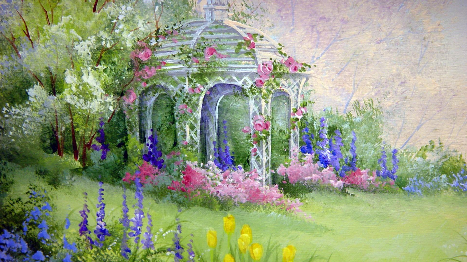 Flower Garden Hd Wallpaper 491318 Jpg