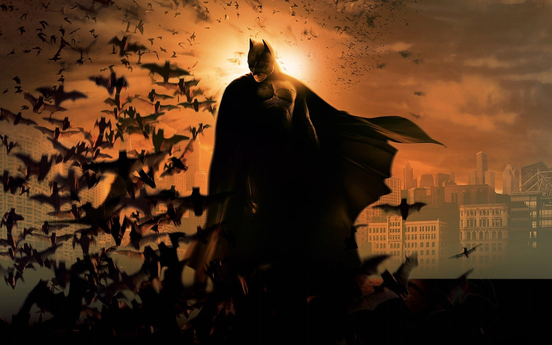 1920x1200 Batman Begins HD Wallpaper