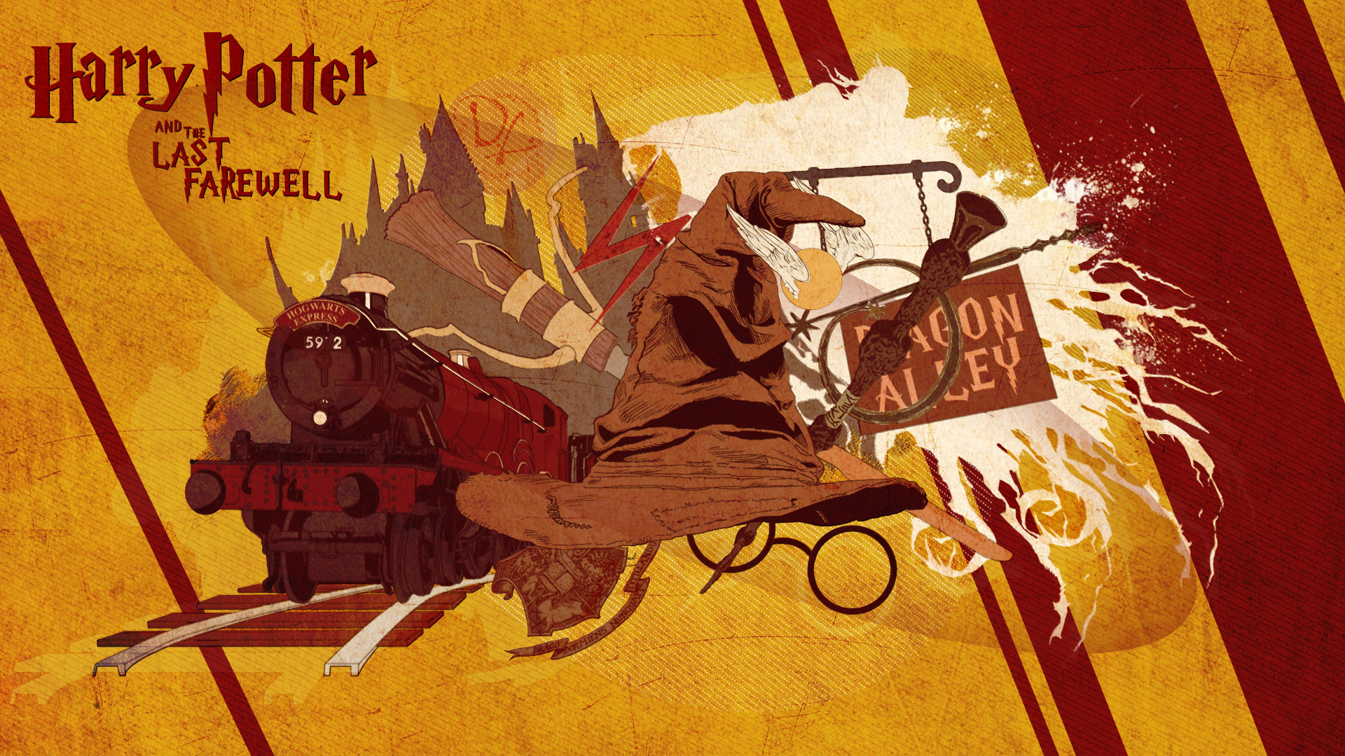 Harry Potter Book Cover Wallpaper ~ Harry potter book wallpapers ·①