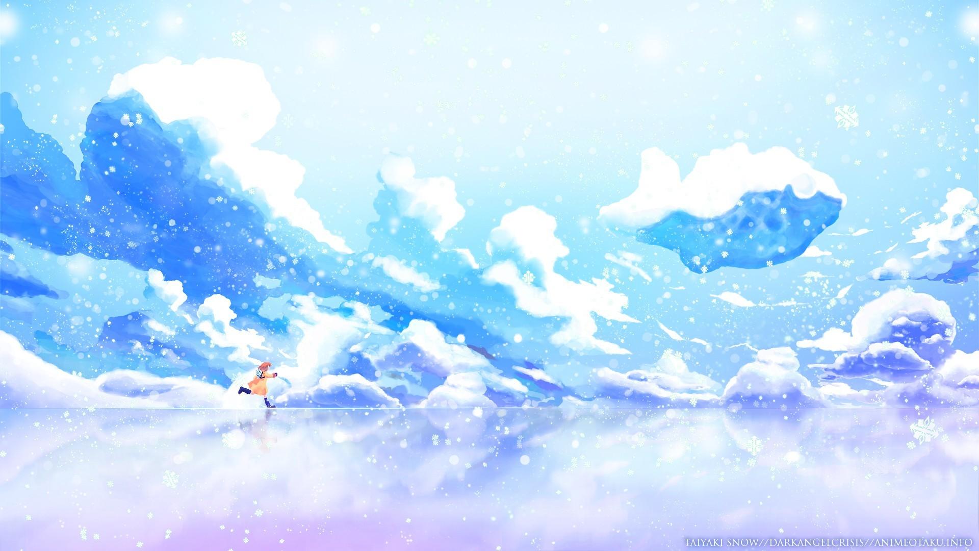 Winter Anime Girl Wallpaper: Winter Anime Wallpaper ·① WallpaperTag