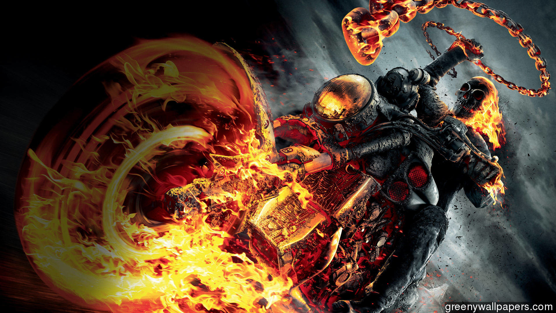 Wallpaper Ghost Rider 2 Wallpapertag