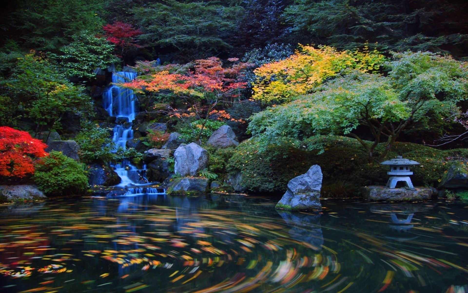Japanese Garden Desktop Wallpaper Wallpapertag