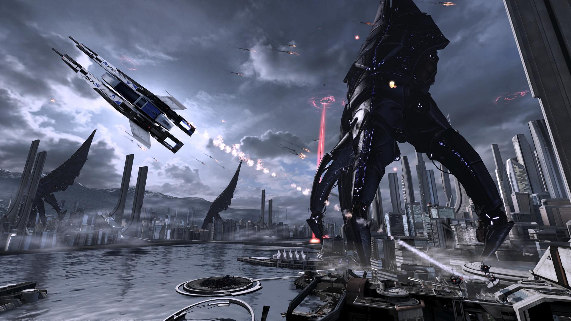 Mass Effect Reaper Wallpaper Wallpapertag