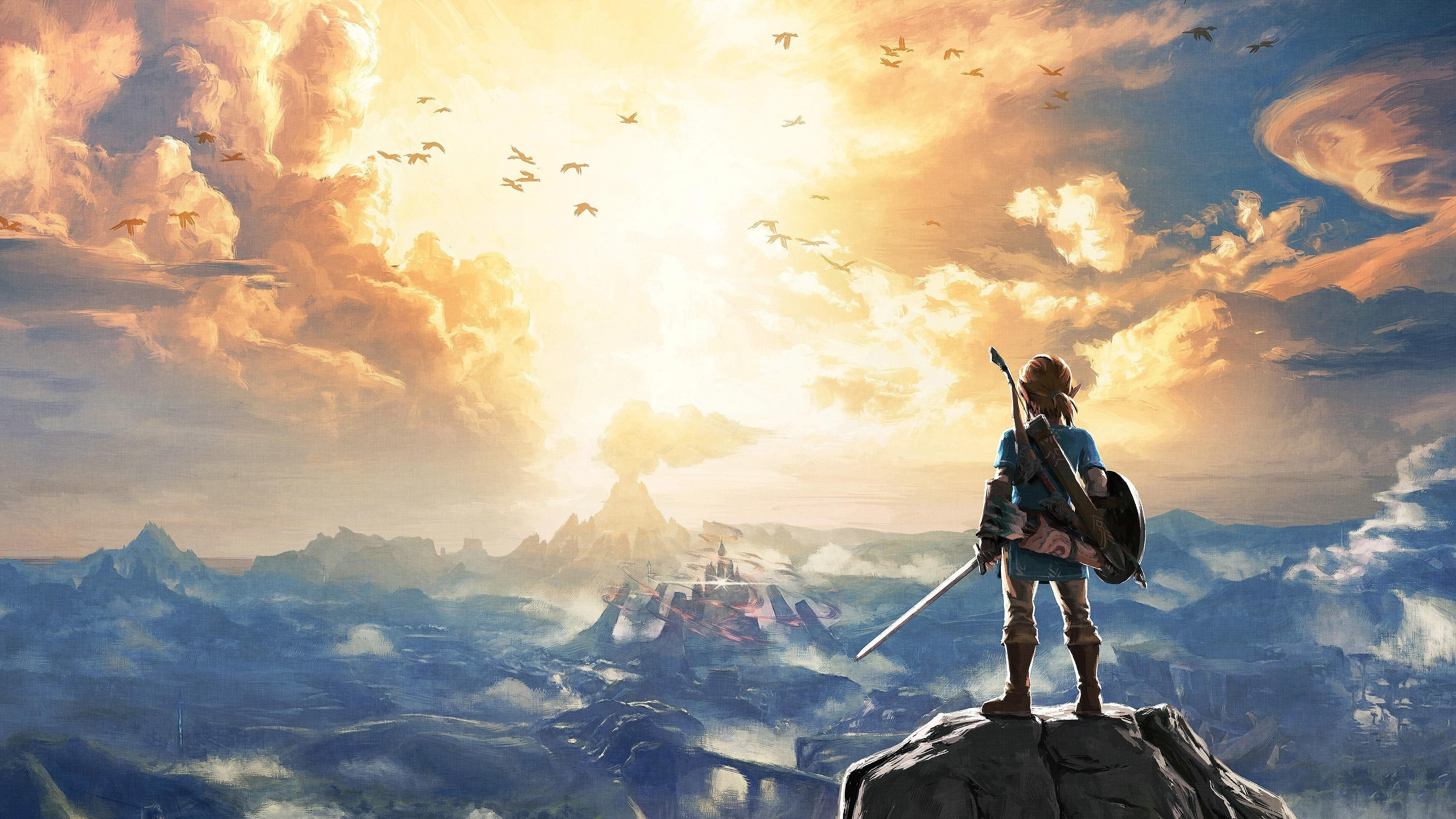 The Legend Of Zelda Breath Of The Wild Wallpapers Wallpapertag