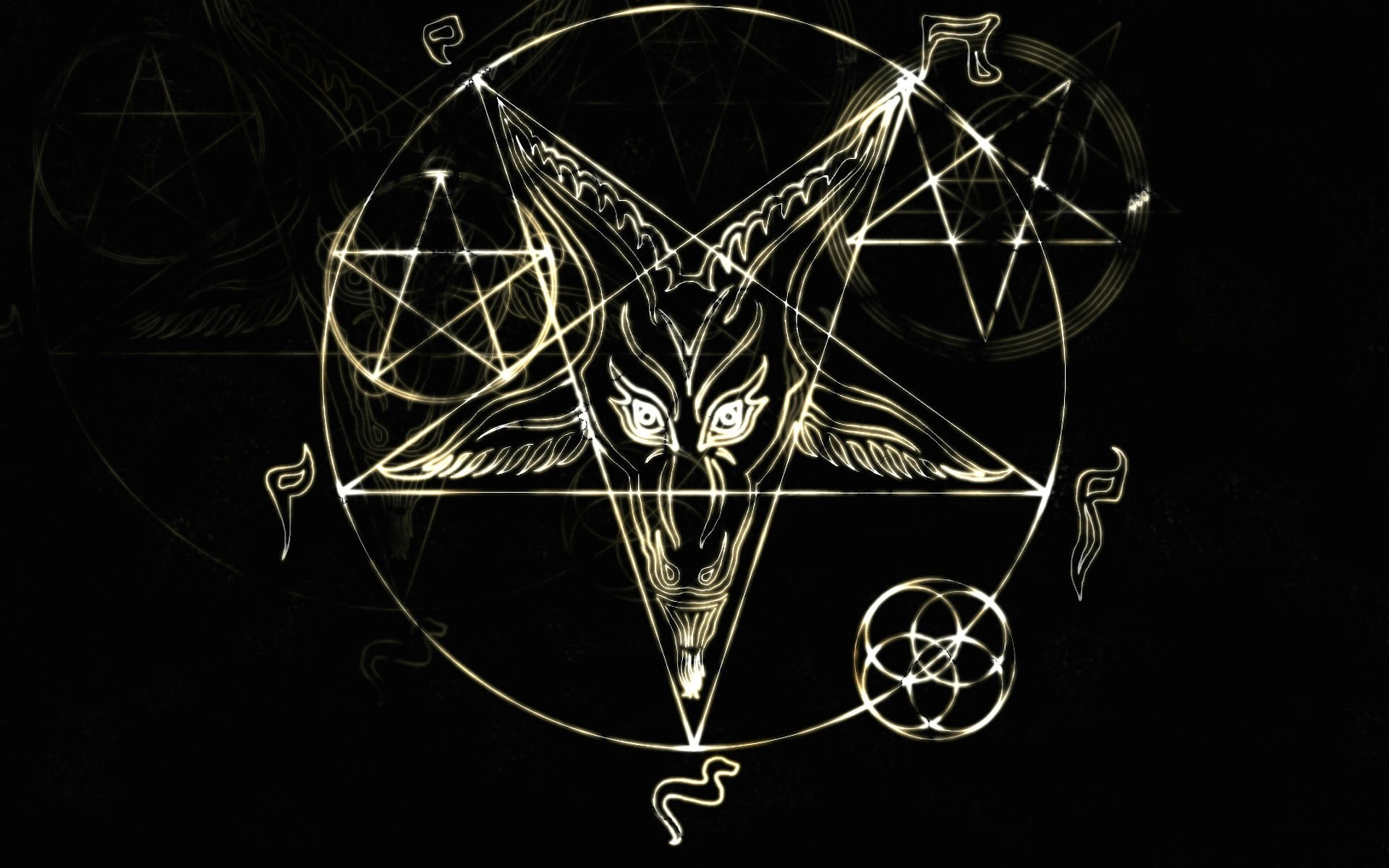Pagan Wallpaper For Android: Satanic Backgrounds ·①