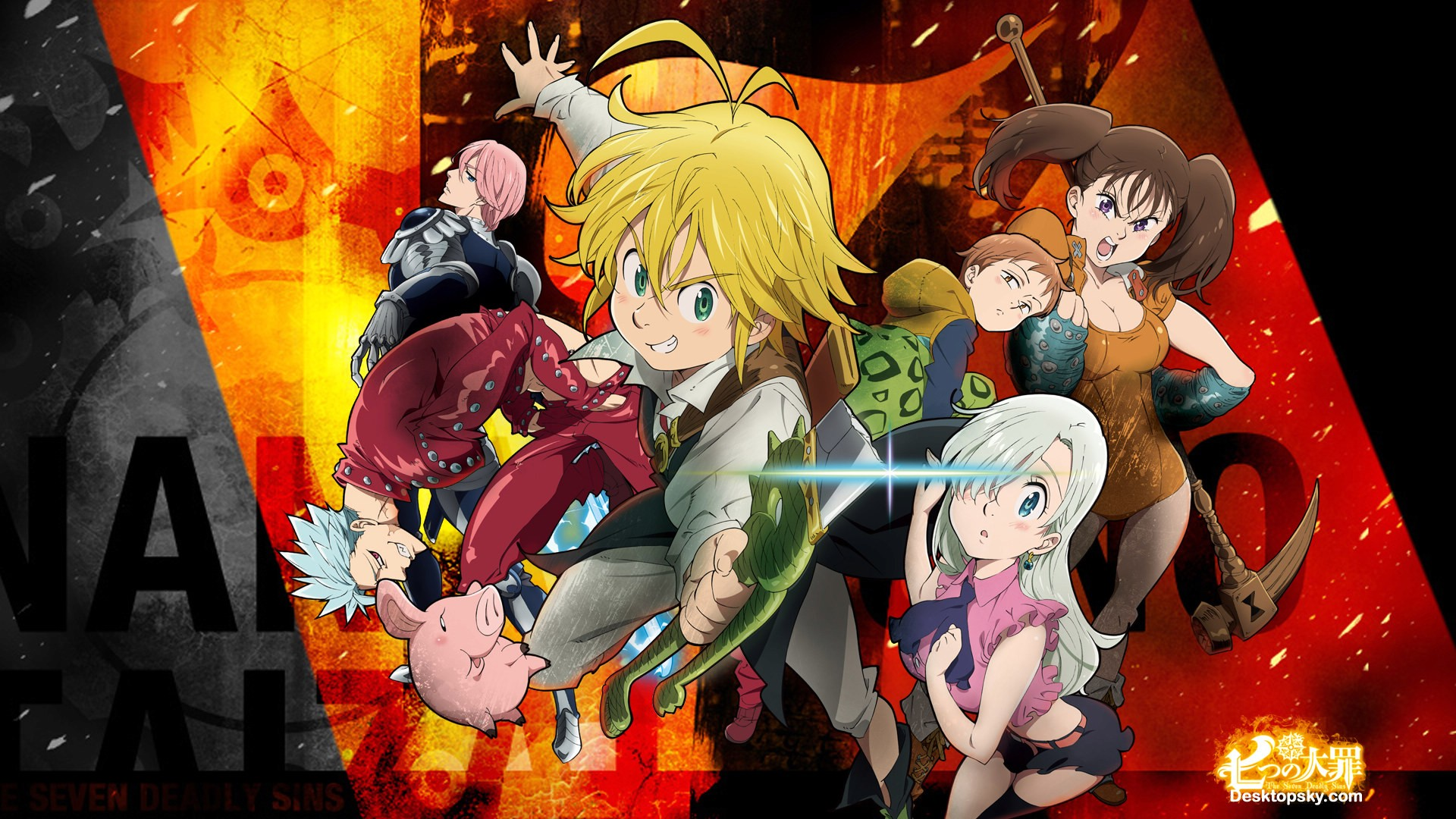 Nanatsu No Taizai Wallpaper Download Free Amazing Full Hd
