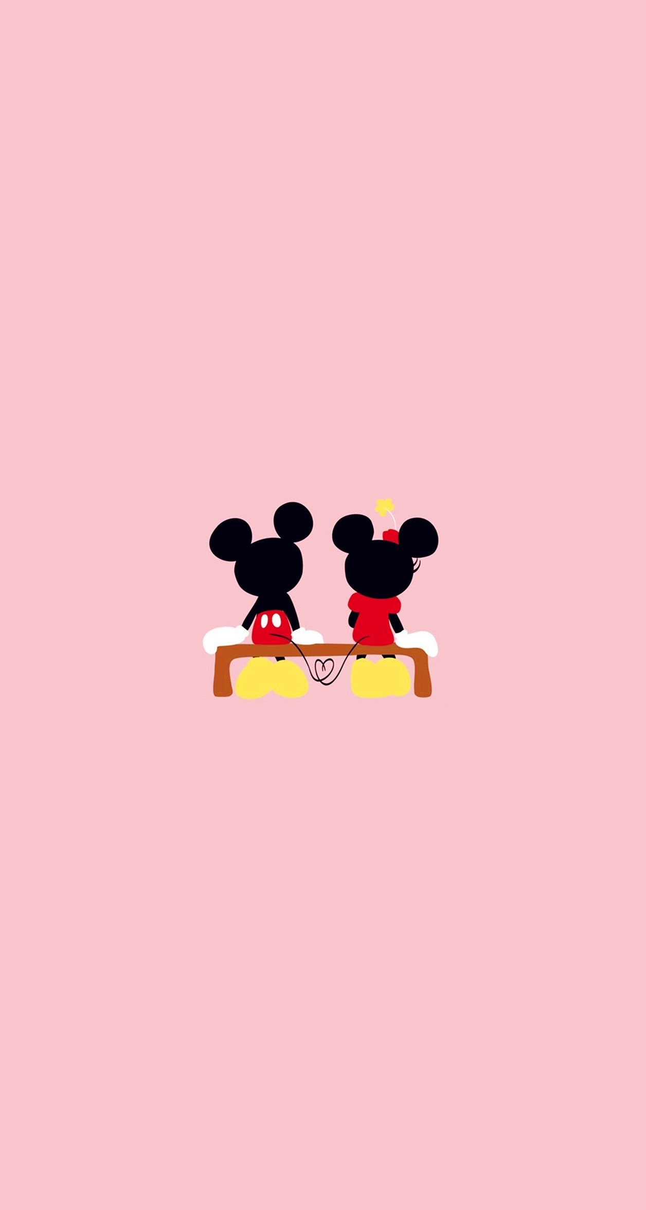 Mickey and minnie wallpaper wallpapertag - Minnie mouse wallpaper pinterest ...