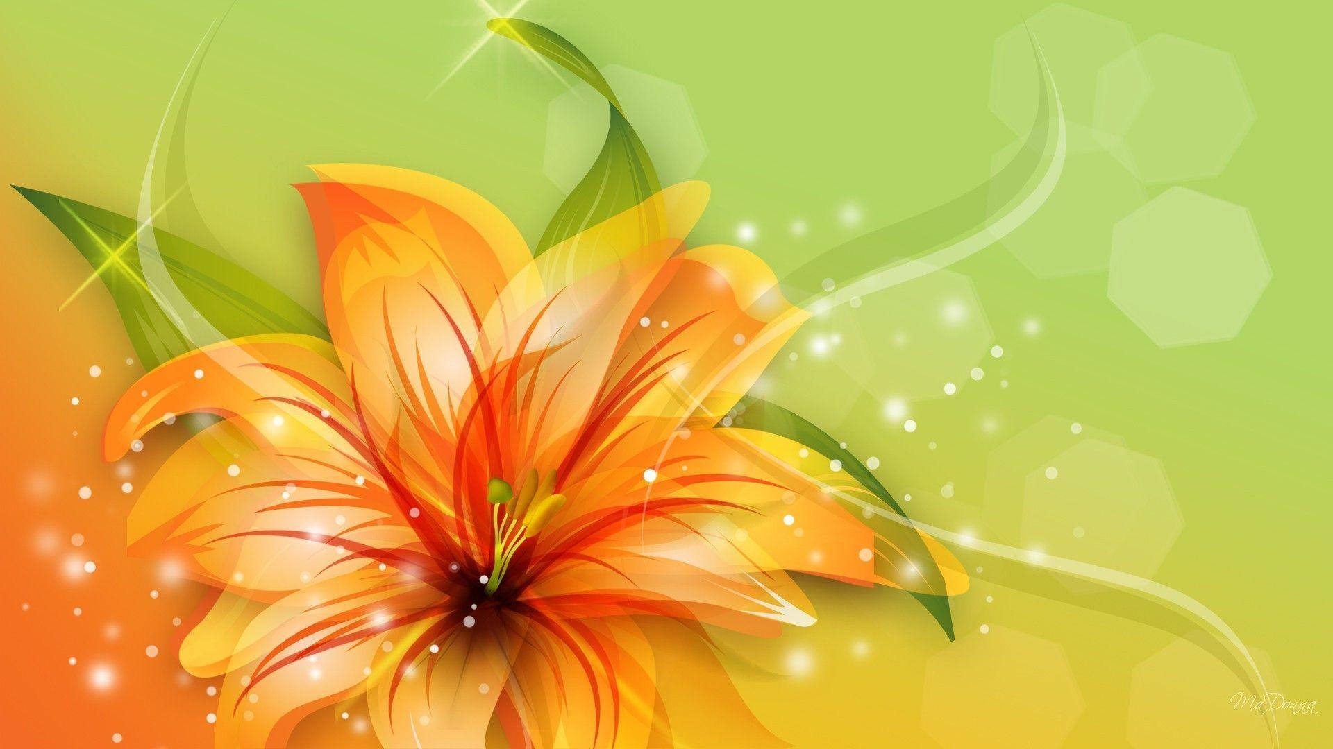 Tiger Lily Wallpaper