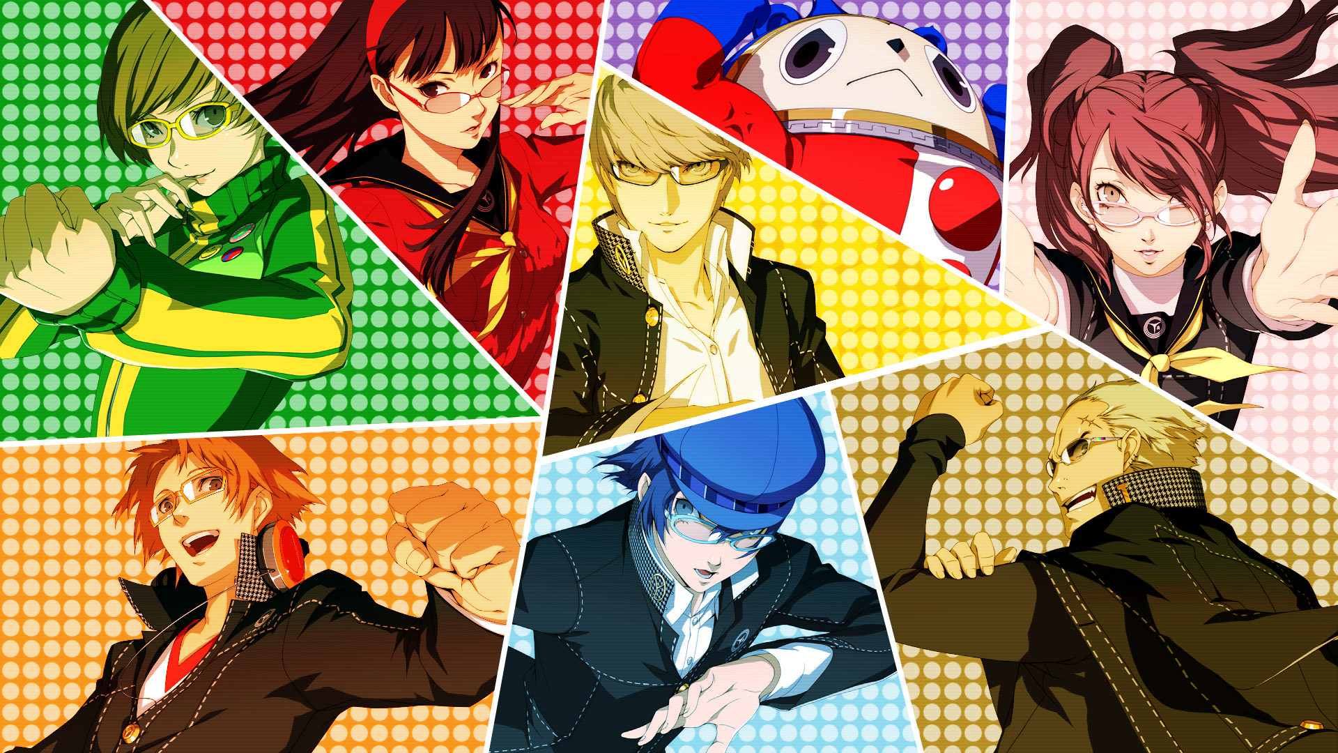 Persona 4 Golden Wallpaper Vita Wallpapertag