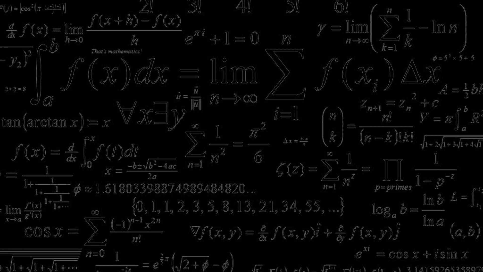 mathematics wallpaper ·①