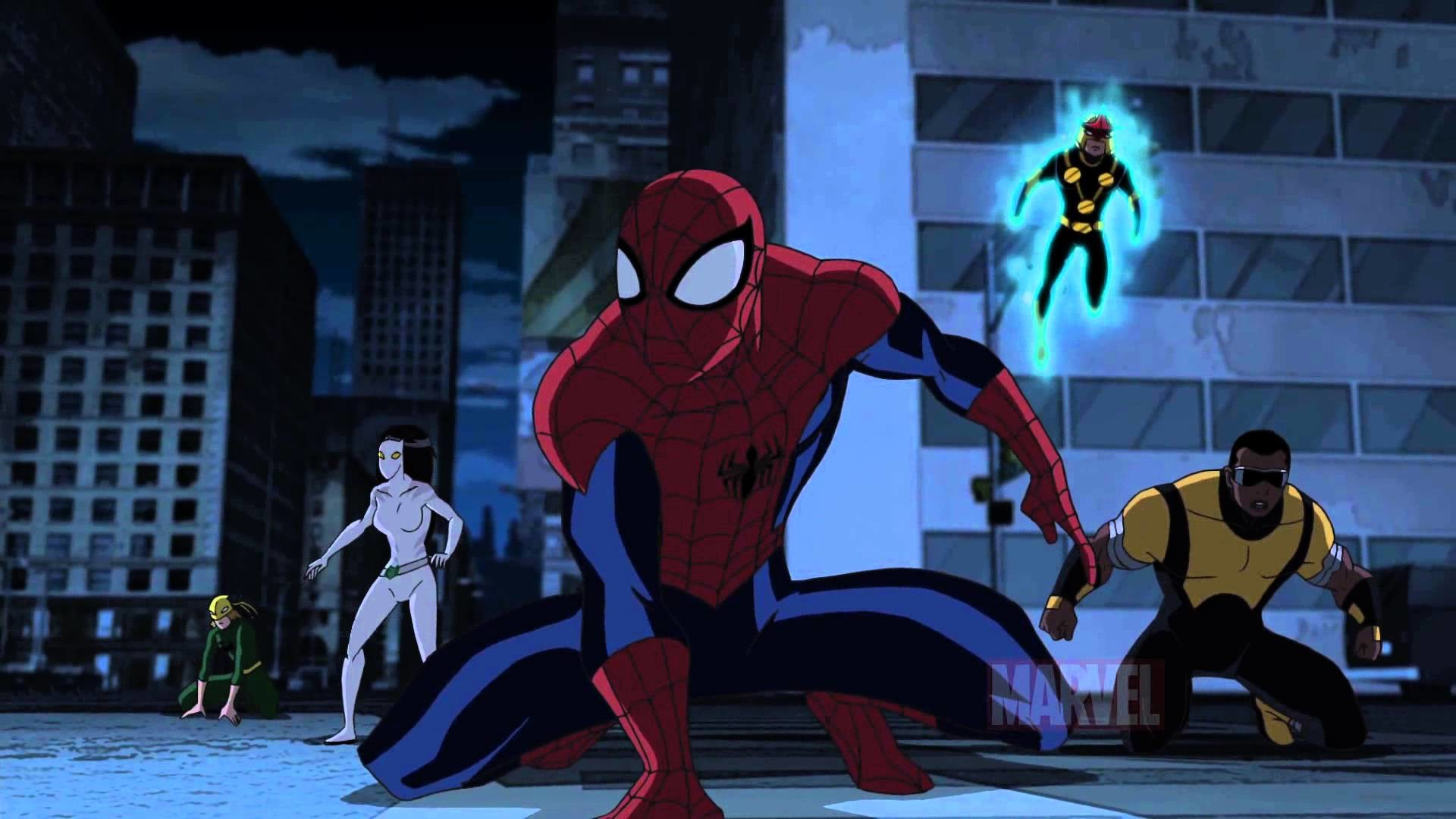 Ultimate Spider Man Wallpapers ·①