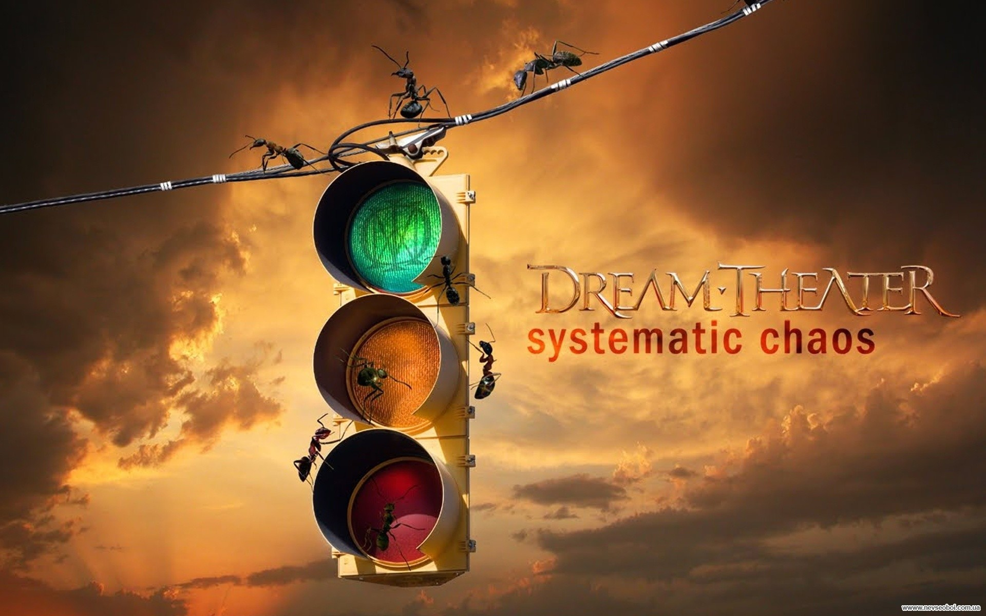 Logo Dream Theater Wallpaper