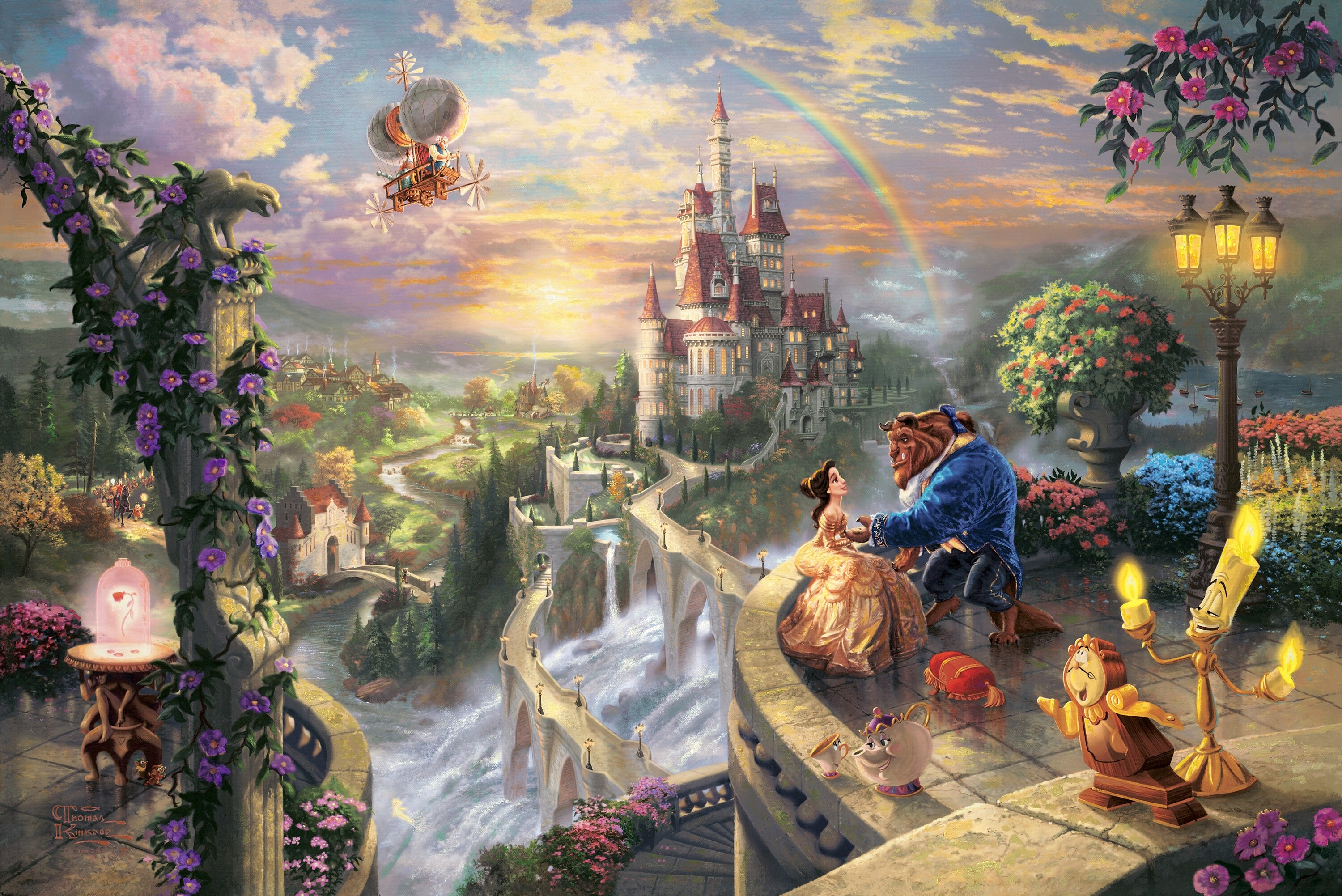 beauty and the beast background ·① download free stunning full hd