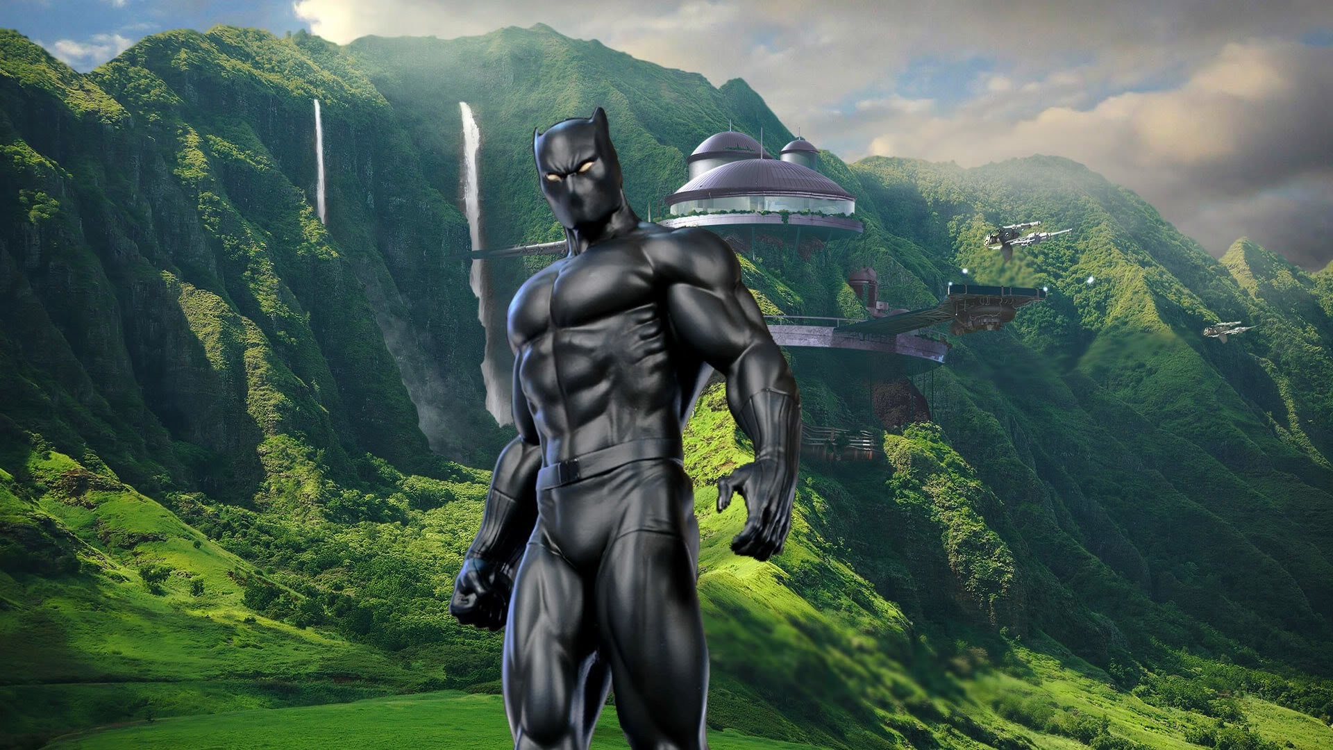 Black Panther Marvel Wallpapers Wallpapertag
