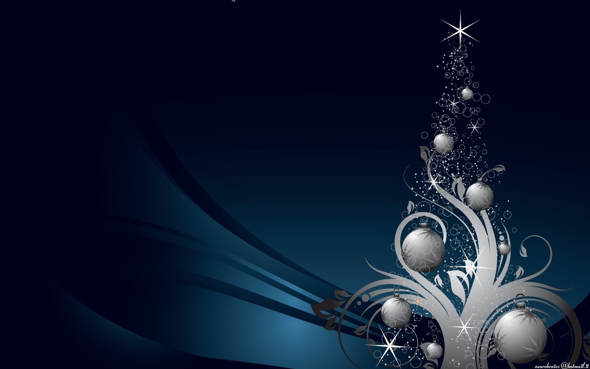 Blue Christmas background ·① Download free cool HD backgrounds ...