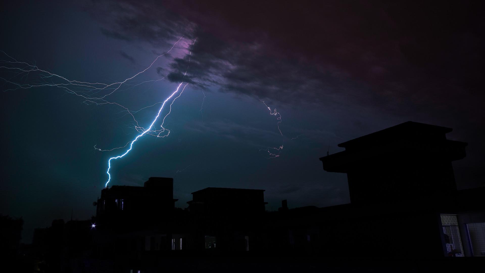 Thunderstorm desktop wallpaper wallpapertag - Lightning wallpaper 4k ...