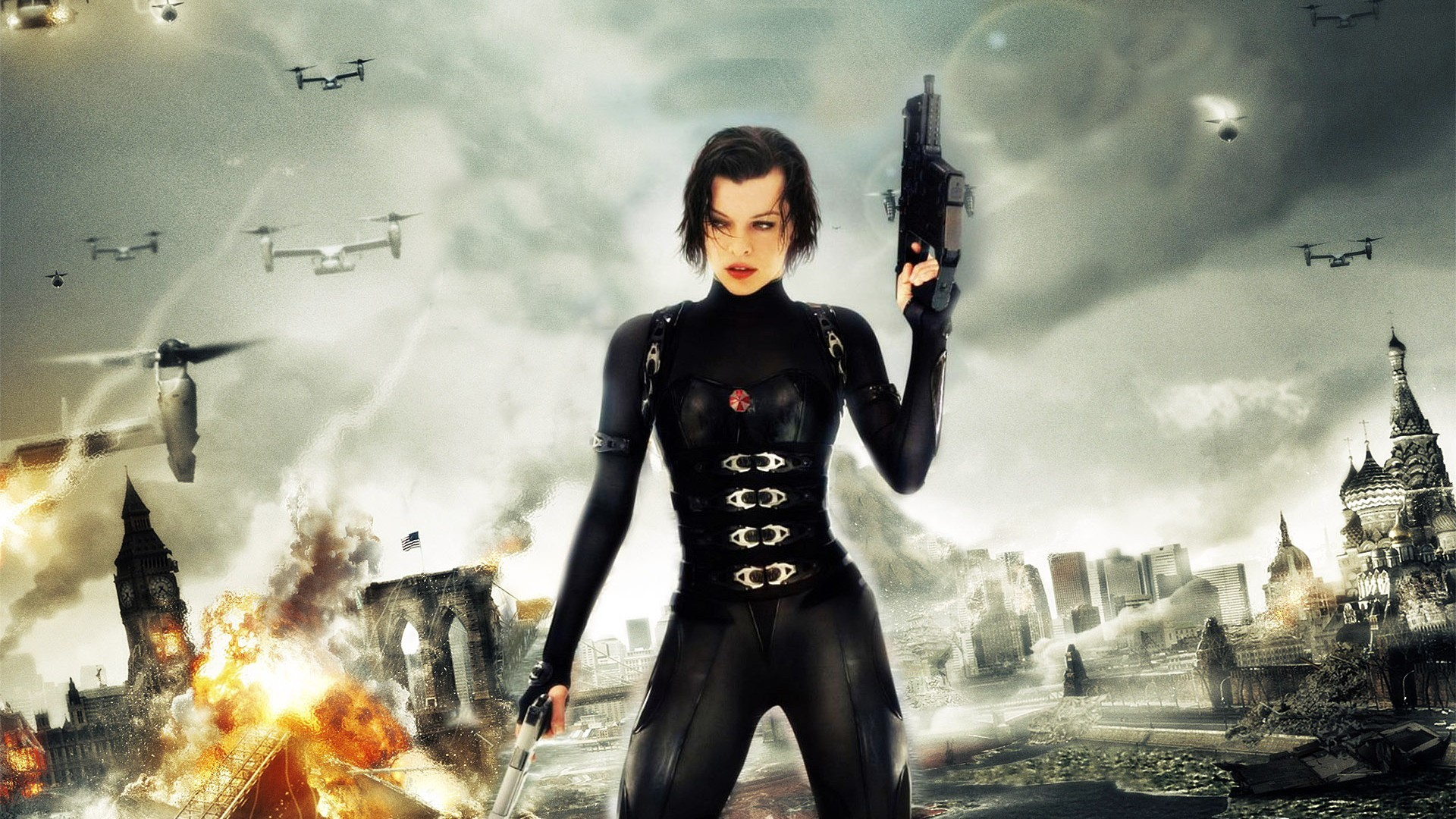 Milla jovovich resident evil wallpaper wallpapertag - Resident evil afterlife wallpaper ...