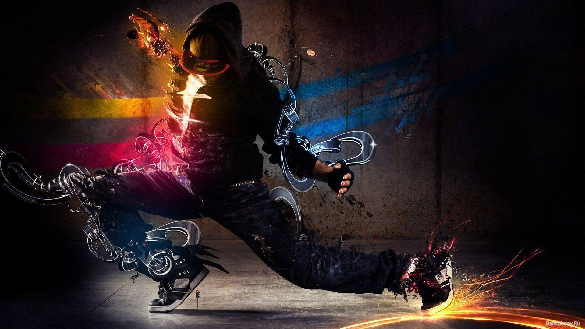 Breakdance Wallpaper ·①