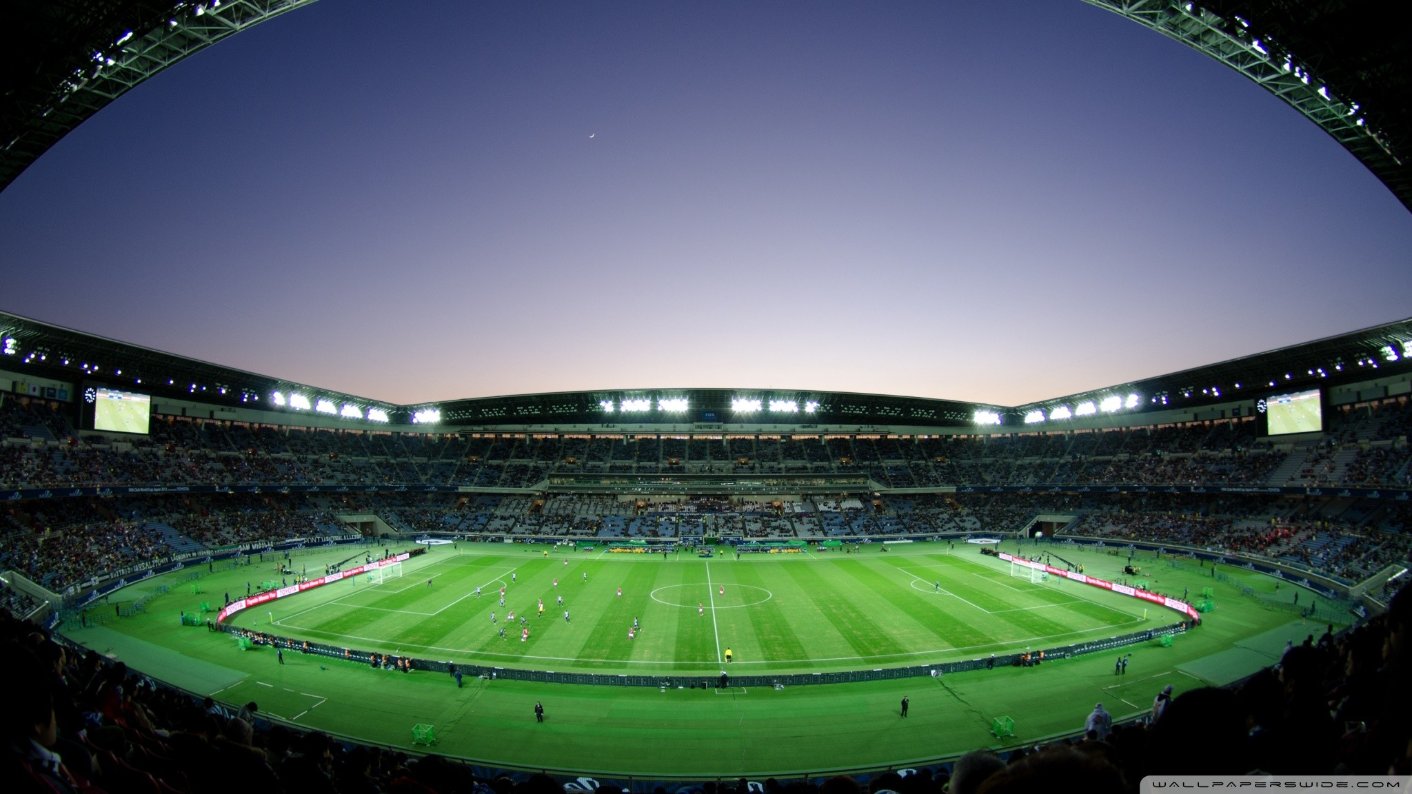 Football stadium background wallpapertag - Soccer stadium hd ...