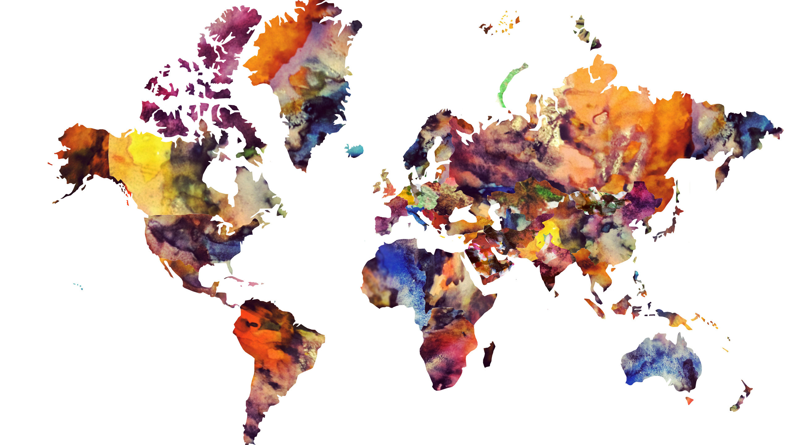 World Map Wallpaper High Resolution Wallpapertag