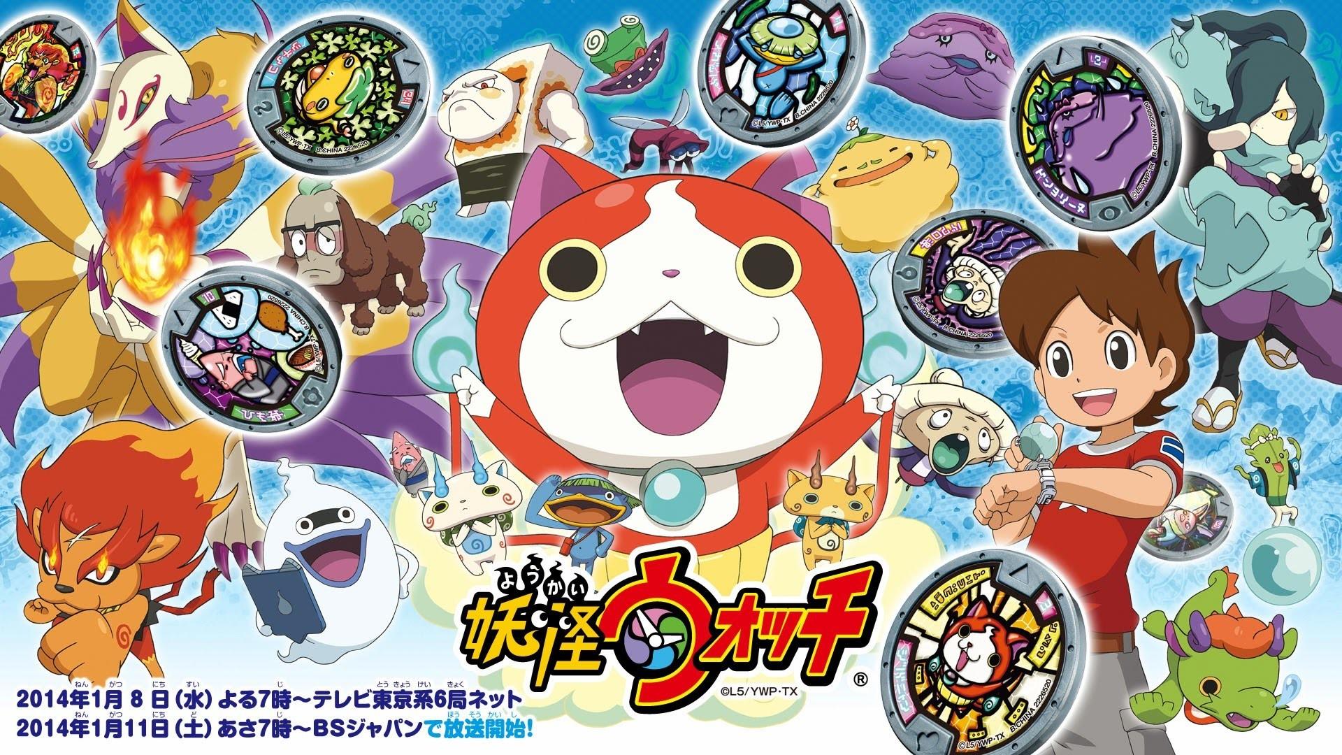 yo-kai watch wallpaper  Yo Kai Watch Wallpapers ·①