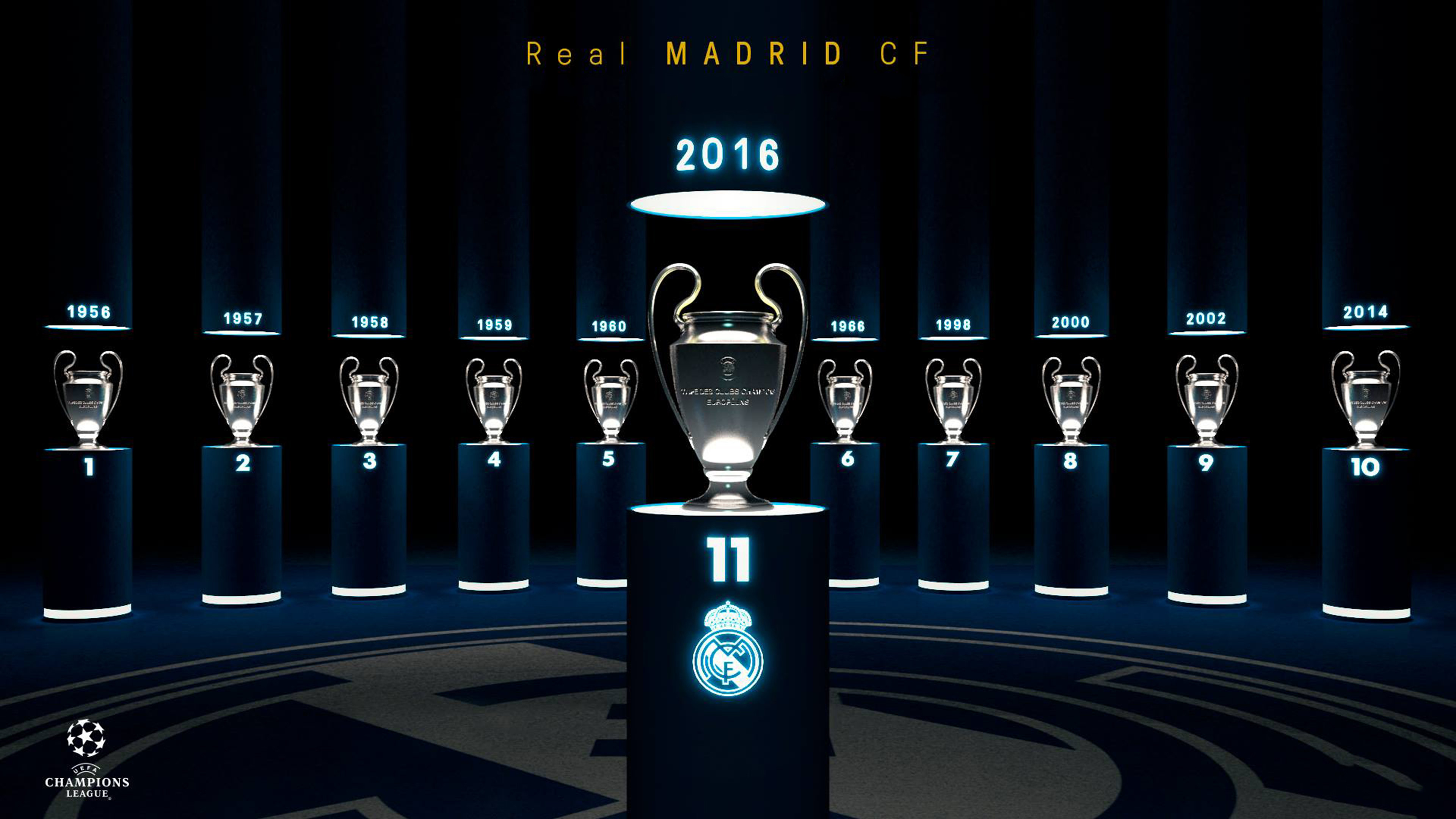 background real madrid 2017