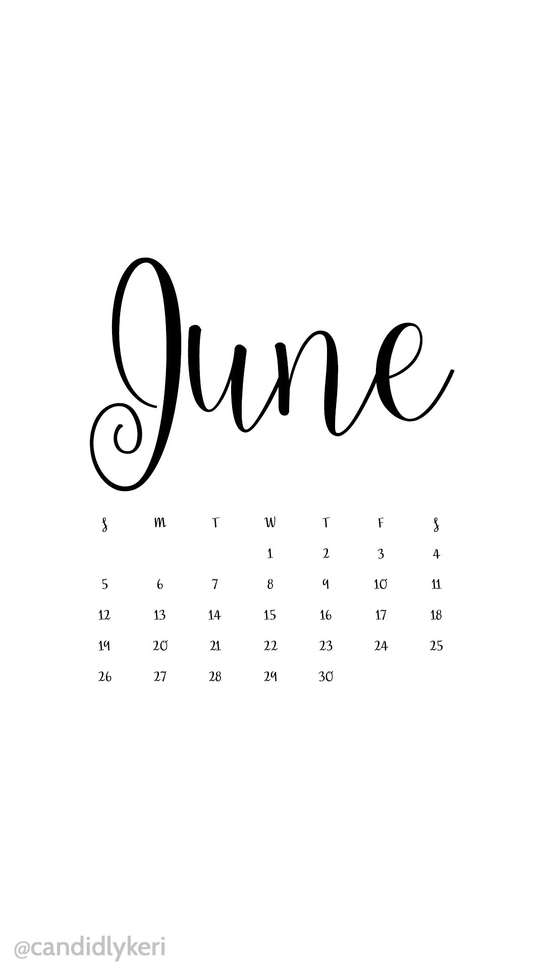 July 2018 Calendar Wallpapers 1