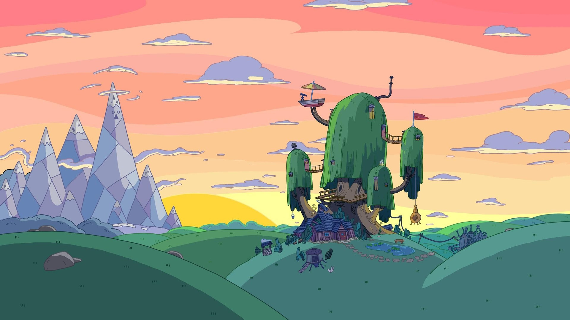 adventure time wallpapers hd ·①