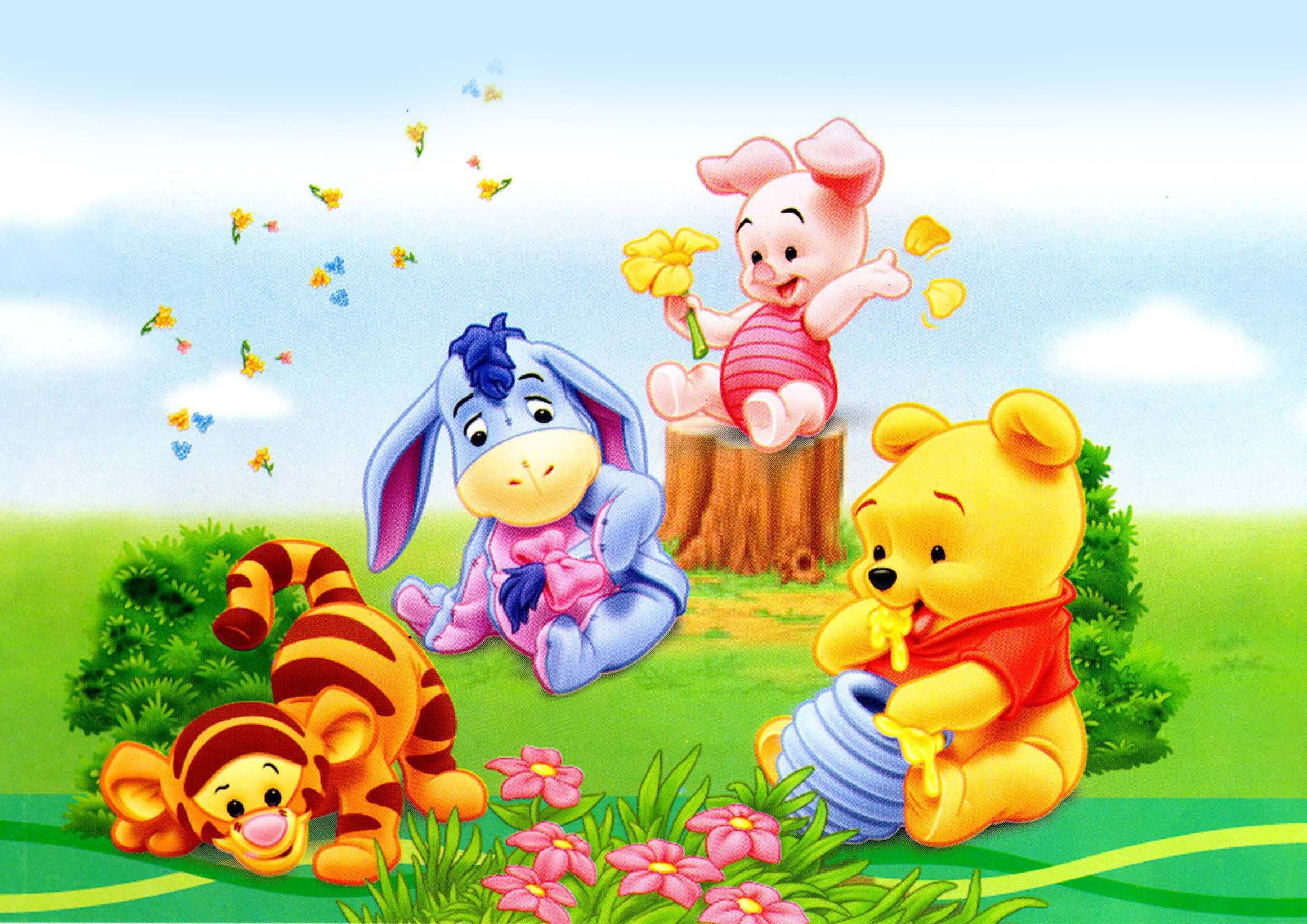 Winnie the pooh desktop wallpaper hd wallpaper and background photos download winnie the thecheapjerseys Image collections