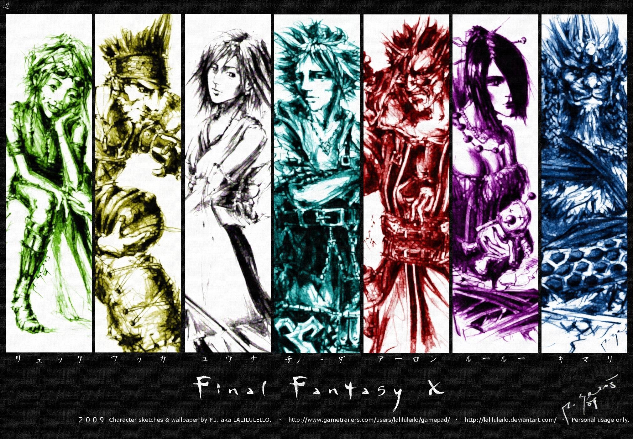 Final Fantasy X Wallpapers Wallpapertag