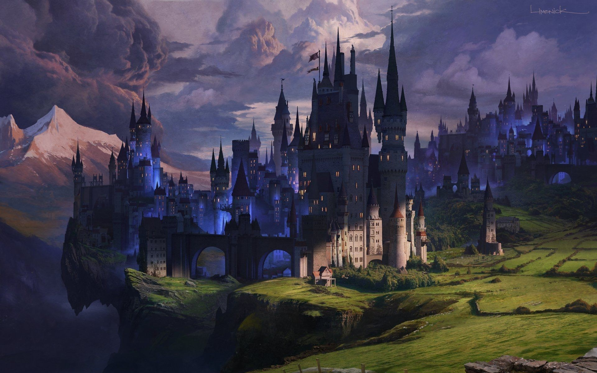 Fantasy Castle Wallpaper Download Free Awesome Wallpapers For