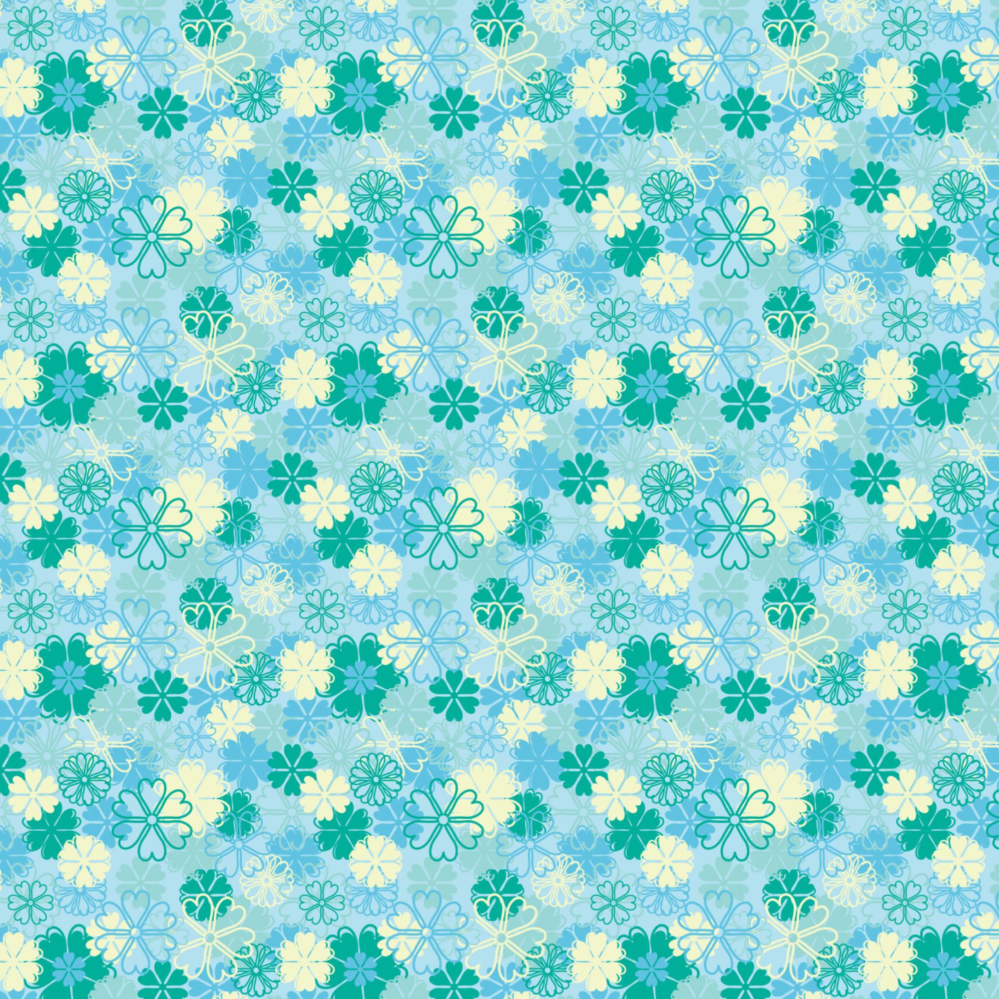 blue floral background 183��