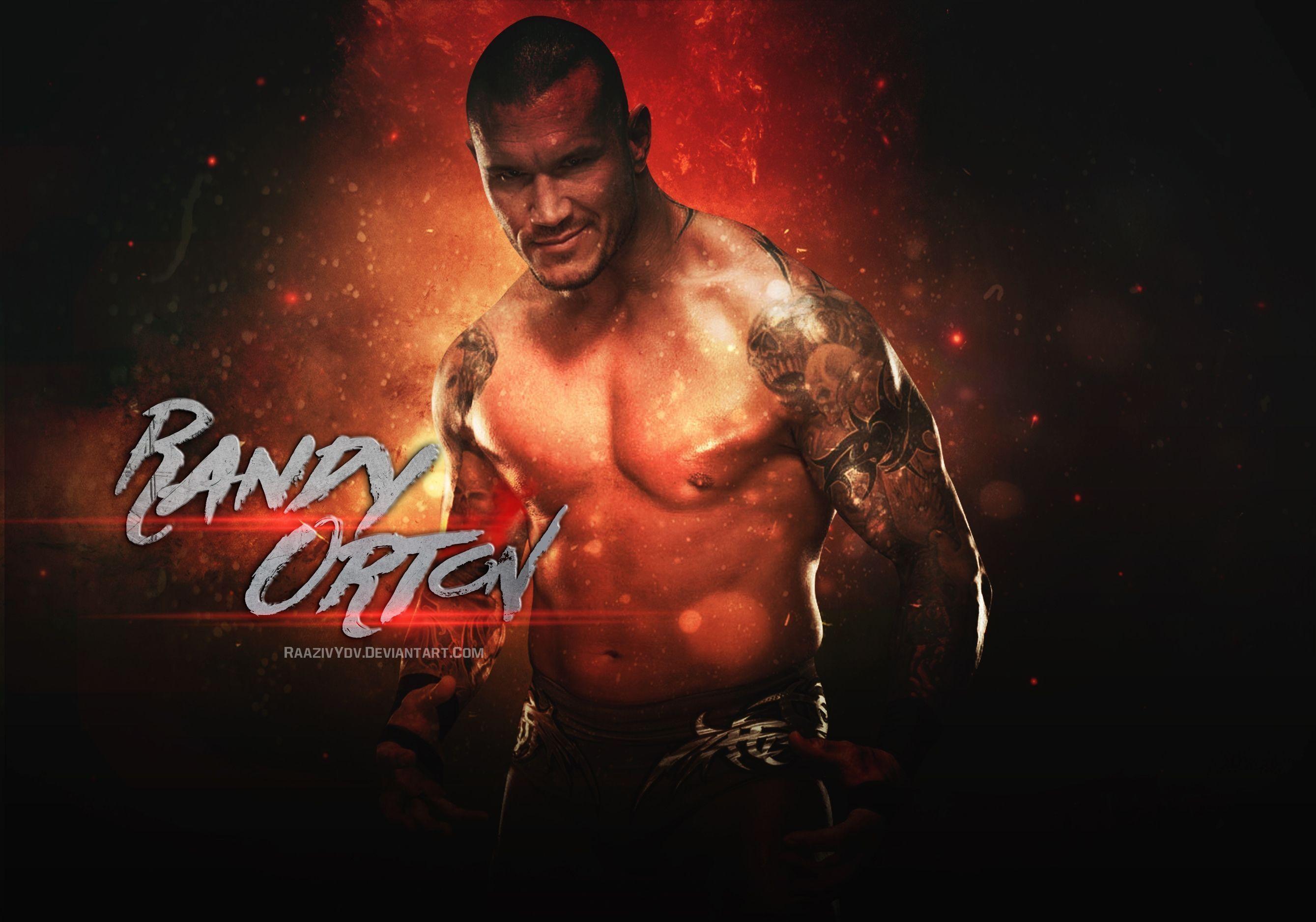 Hd Wwe Randy Orton Smiley Faces Wallpaper 2018