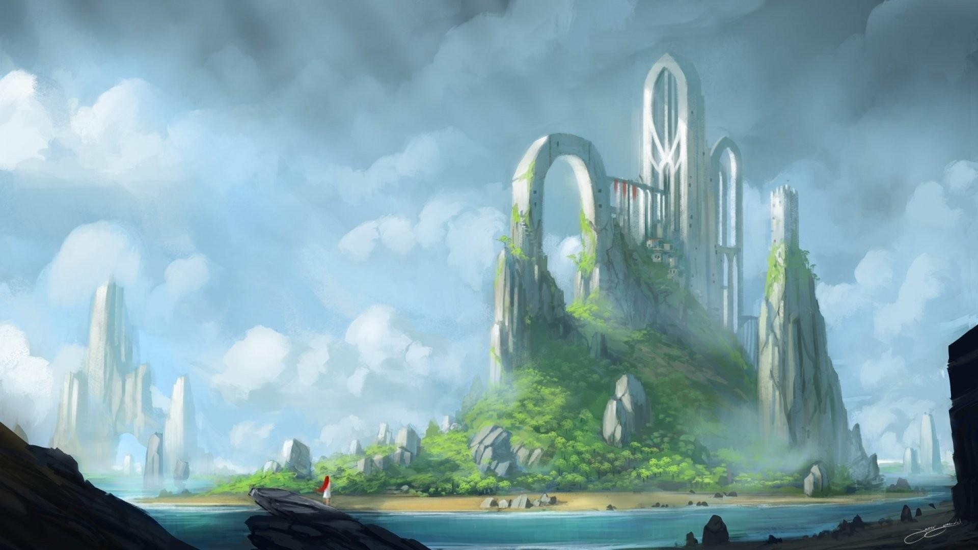 fantasy landscape wallpaper 1920x1080 183�� download free