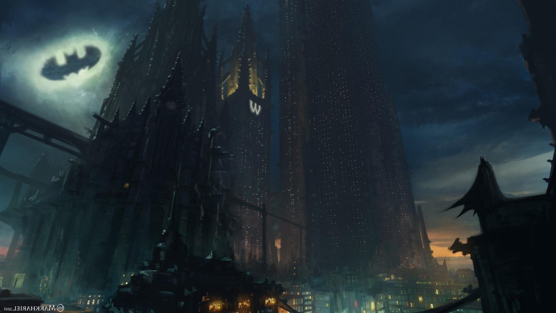 Gotham city background download free amazing full hd - Gotham wallpaper ...